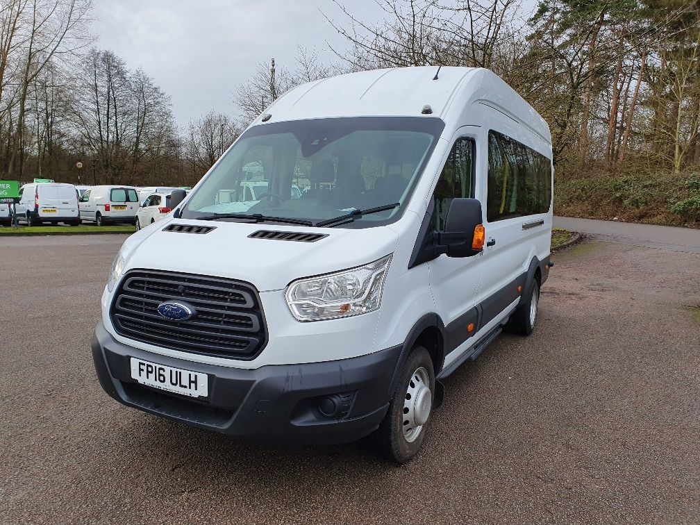 2016 Ford Transit T460 L4 H3 HIGH ROOF MINIBUS 125PS EURO 6 (FP16ULH) Image 3