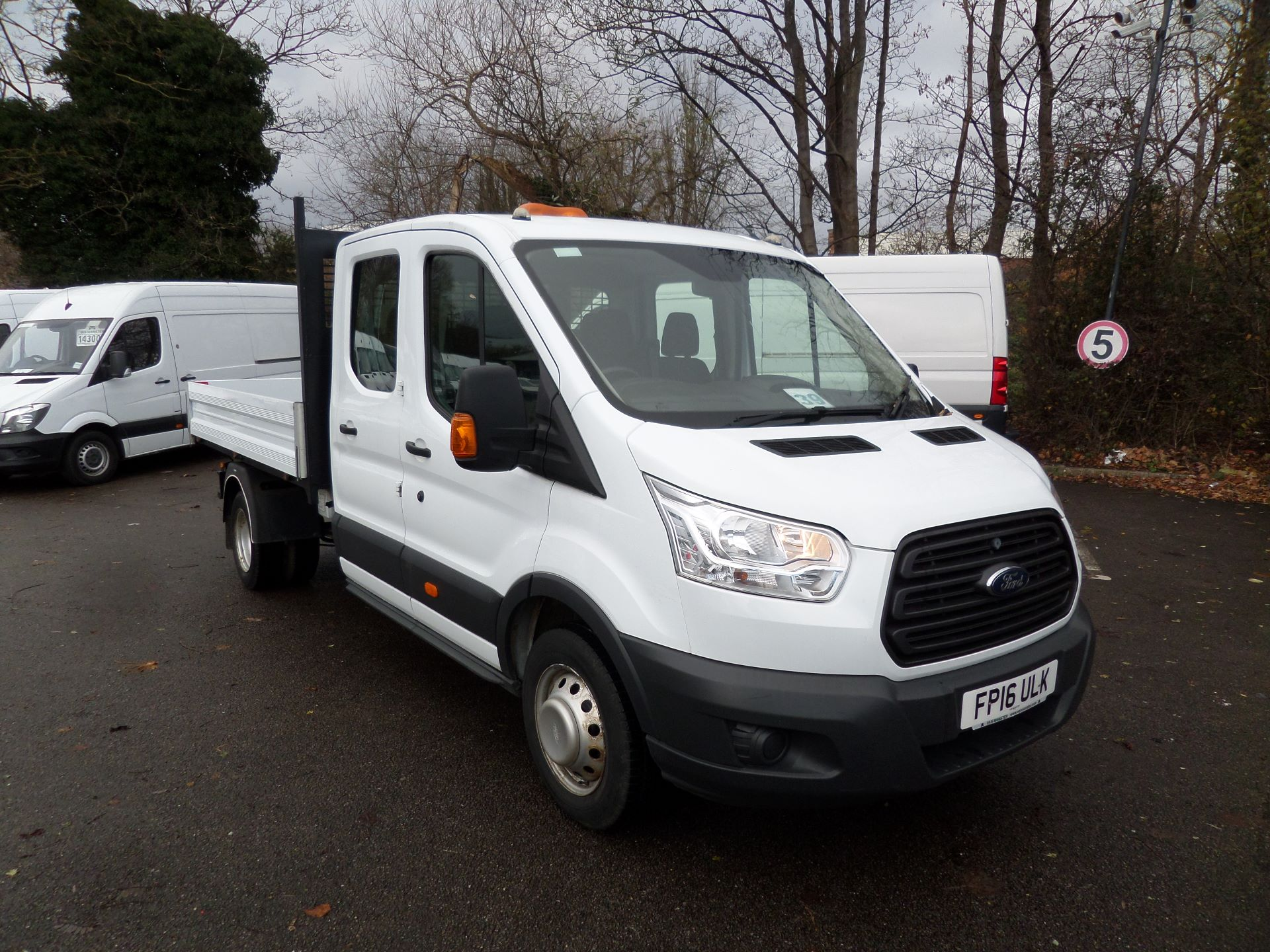 2016 Ford Transit 2.2 Tdci 125Ps 'One Stop' D/Cab Tipper [1 Way] Euro 5 (FP16ULK)