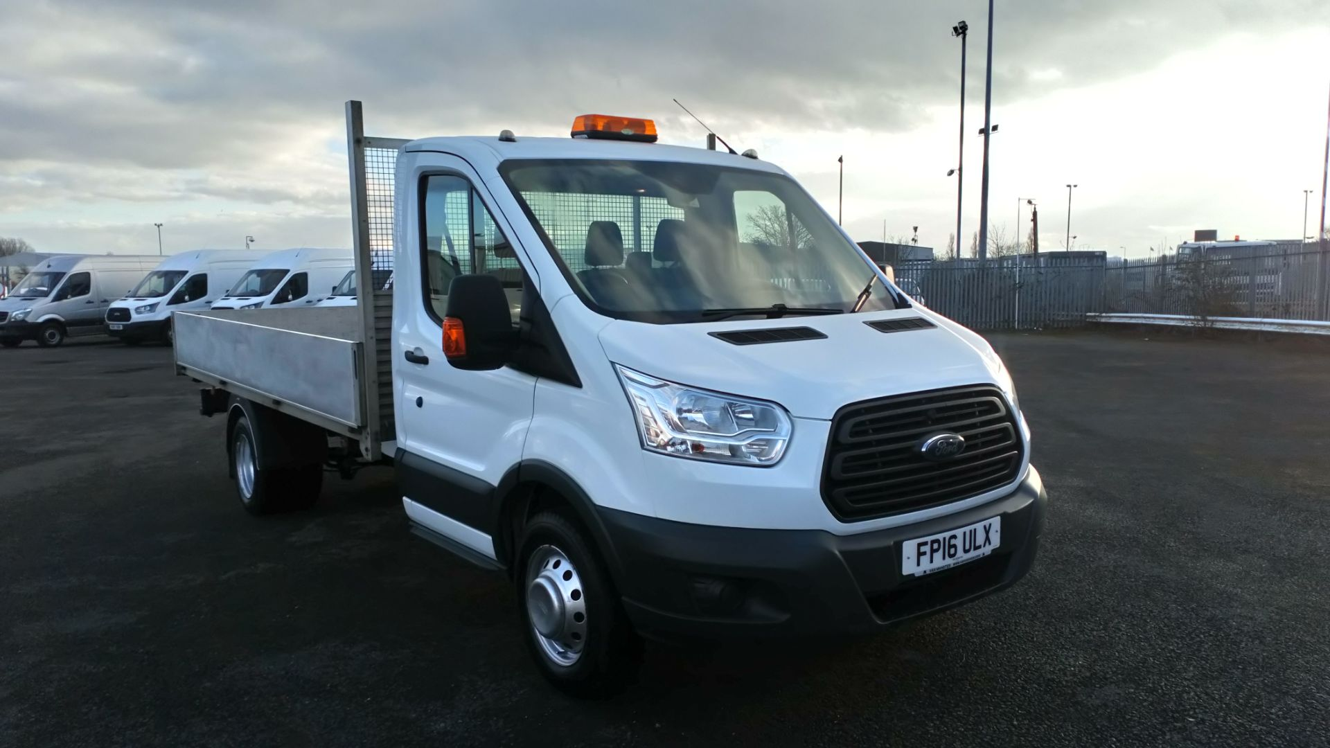 2016 Ford Transit 2.2 Tdci 125Ps Chassis Cab (FP16ULX)