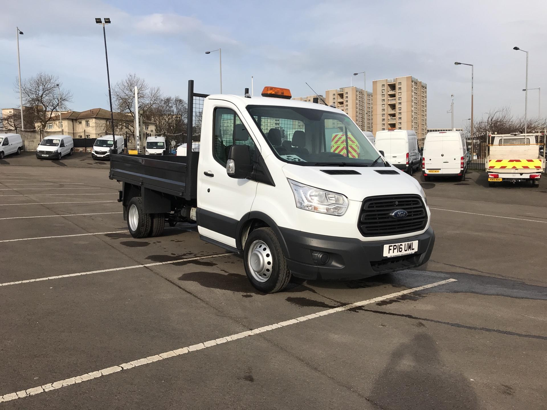 2016 Ford Transit 2.2 Tdci 125Ps SINGLE CAB TIPPER EURO 5 (FP16UML)