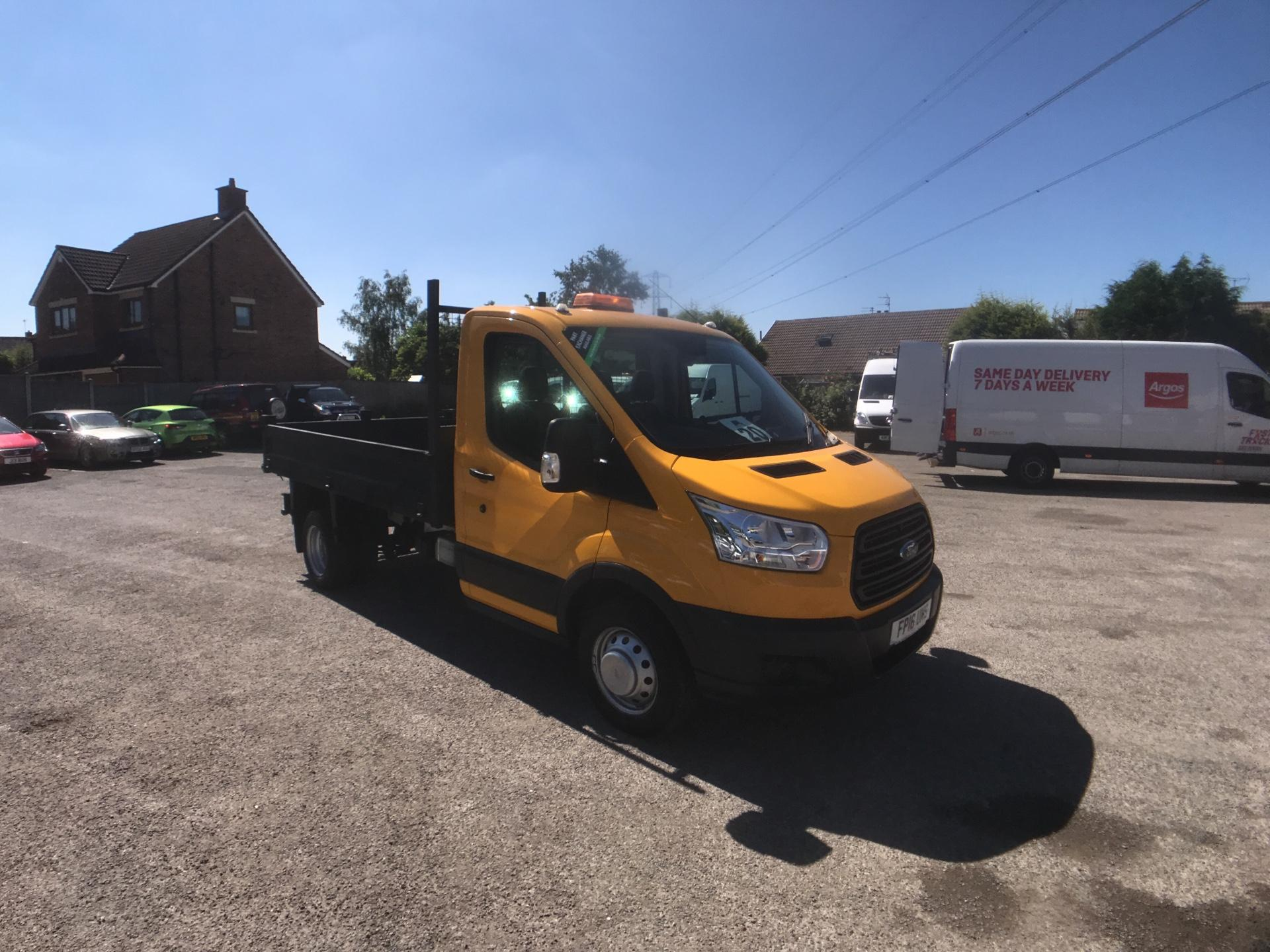 2016 Ford Transit 350 L2 SINGLE CAB TIPPER 100PS EURO 5 (FP16UMS)