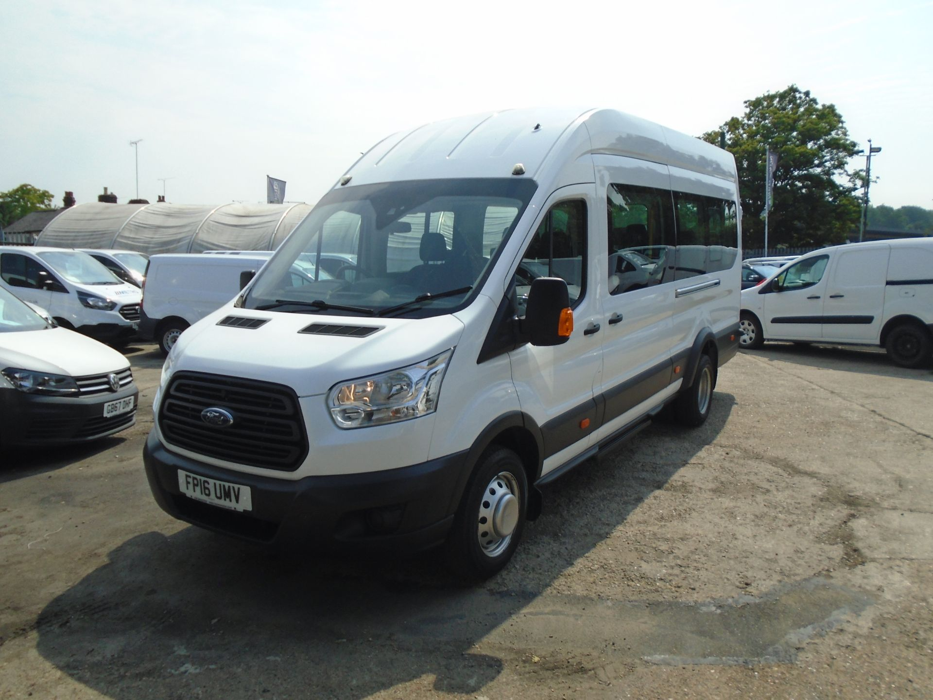 2016 Ford Transit 2.2 Tdci 125Ps H3 17 Seater (FP16UMV) Image 3