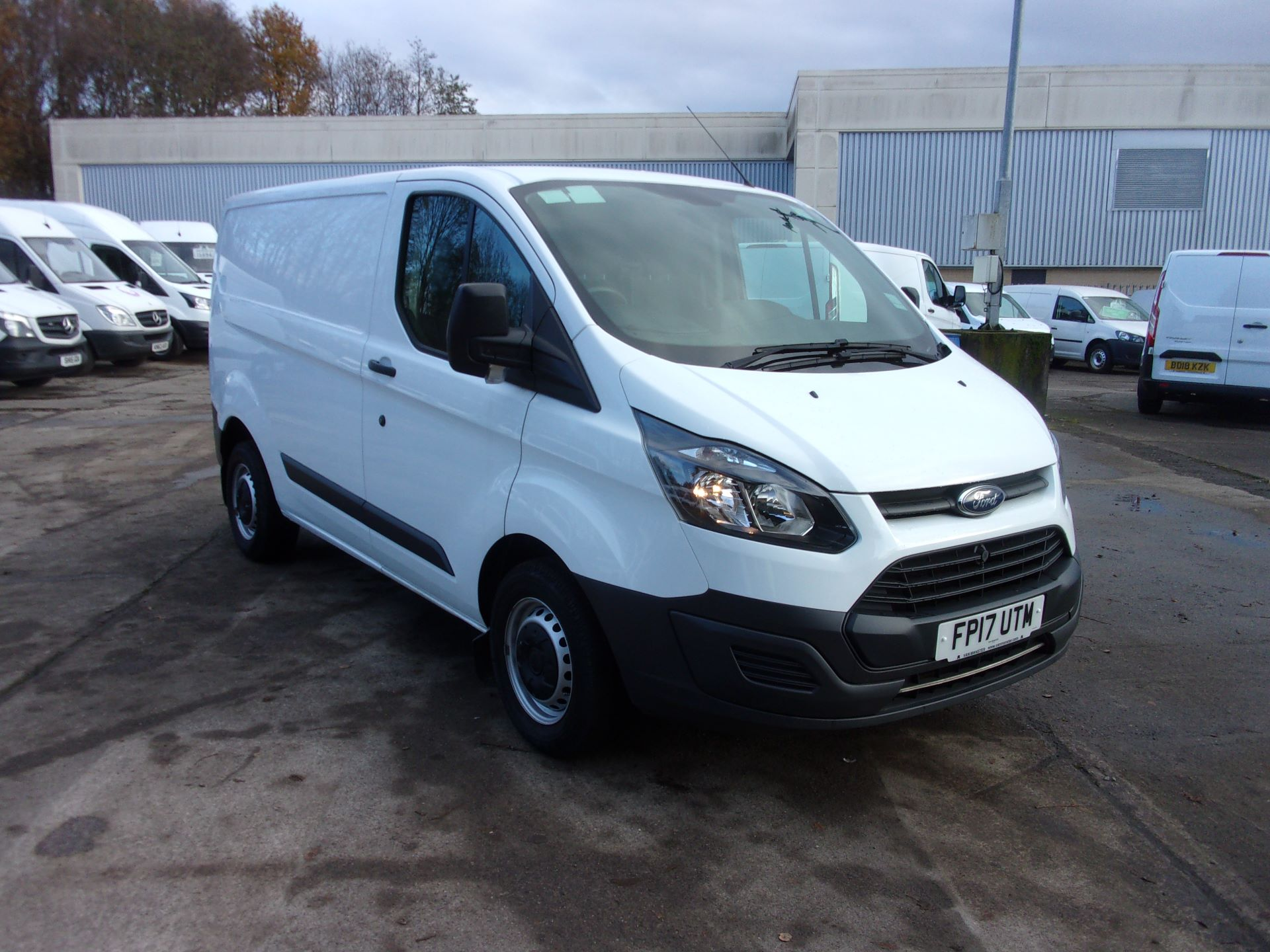 2017 Ford Transit Custom 290 L1 DIESEL FWD 2.0 TDCI 105PS LOW ROOF VAN EURO 6 *LIMITED TO 70MPH* (FP17UTM)