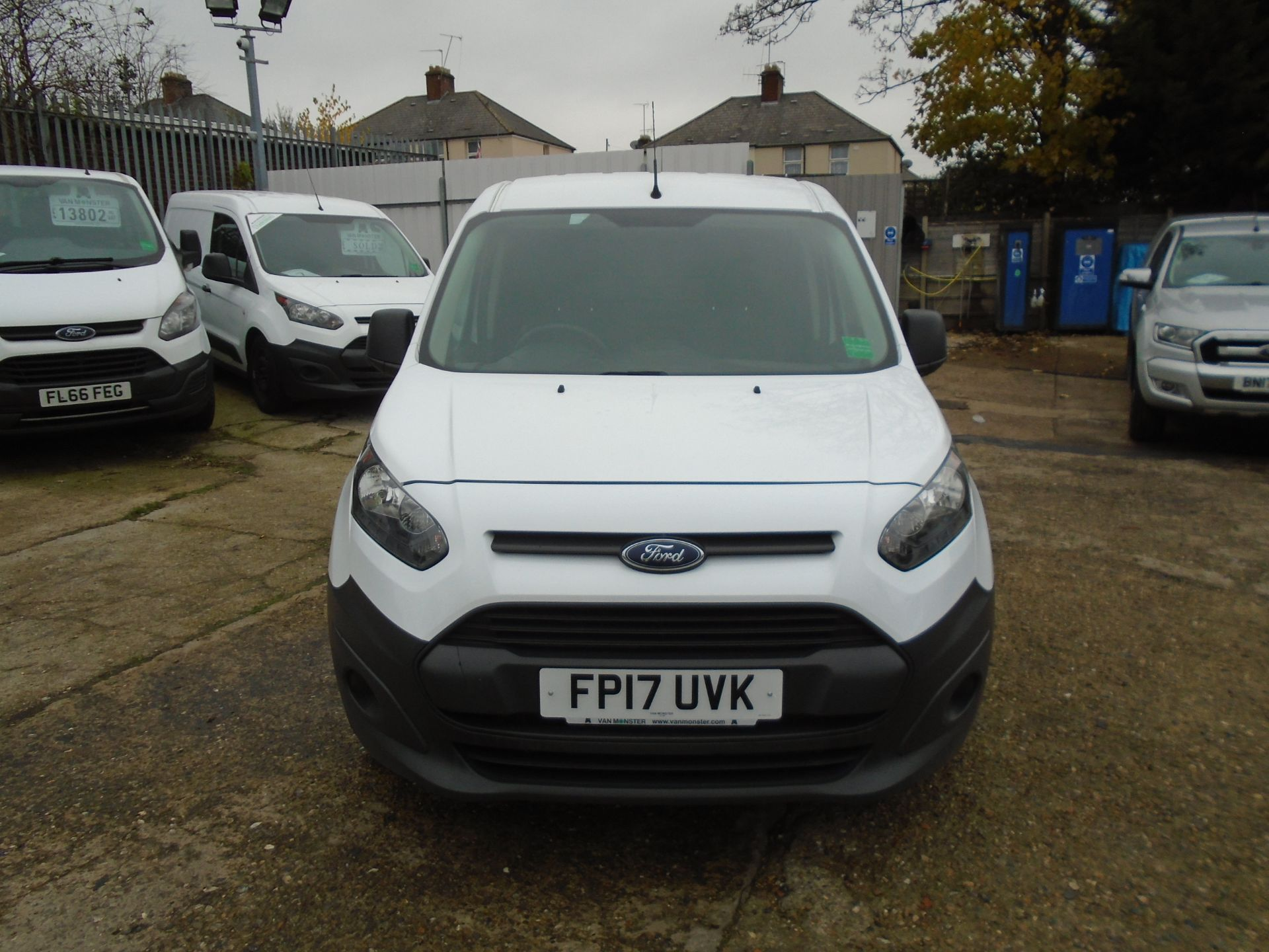2017 Ford Transit Connect 1.5 Tdci 75Ps Van EURO 6 (FP17UVK) Image 2