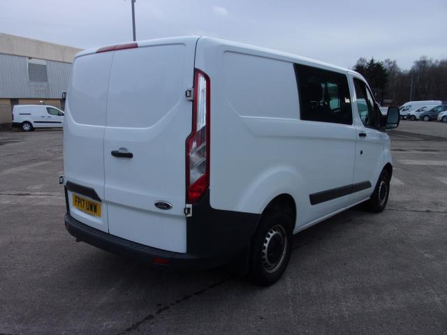 2017 Ford Transit Custom 290 2.0 Tdci 105Ps Low Roof D/Cab Van (FP17UWW) Image 9