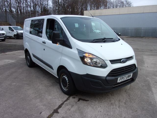 2017 Ford Transit Custom 290 2.0 Tdci 105Ps Low Roof D/Cab Van (FP17UWW)