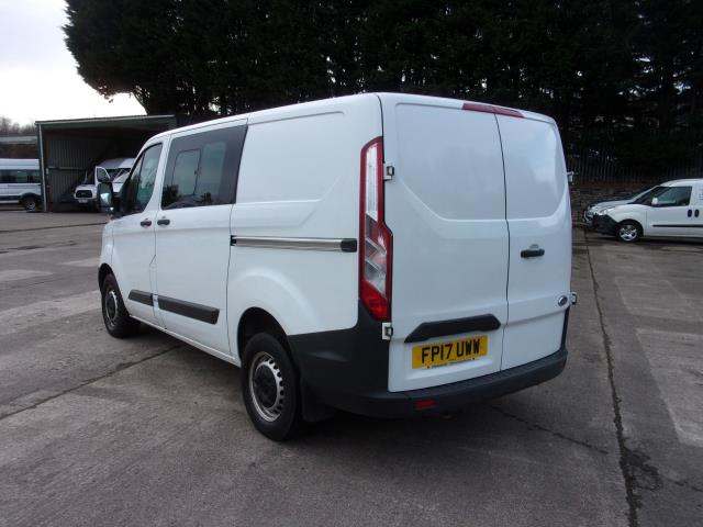 2017 Ford Transit Custom 290 2.0 Tdci 105Ps Low Roof D/Cab Van (FP17UWW) Image 11