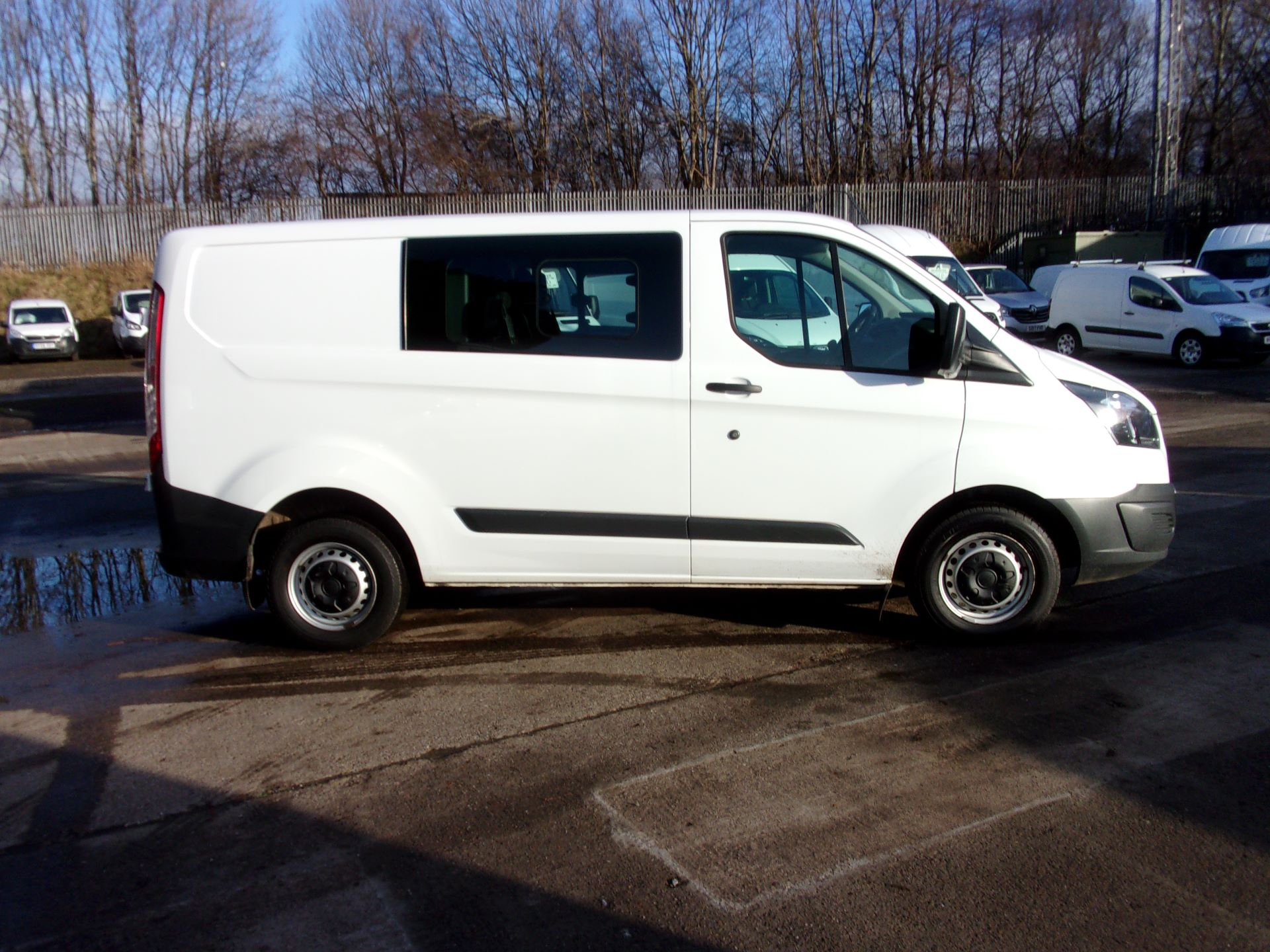 2017 Ford Transit Custom 290 L1 2.0TDCI 105PS LOW ROOF DOUBLE CAB EURO 6 (FP17UXF) Image 8