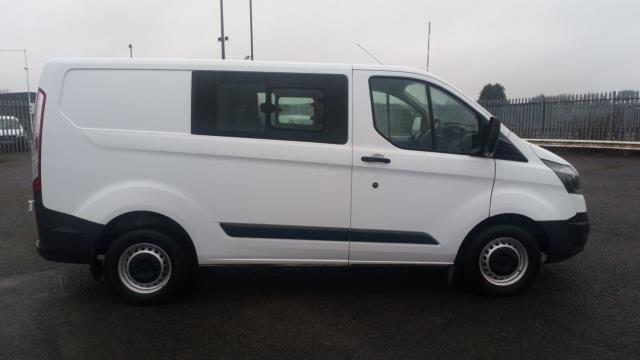 2017 Ford Transit Custom 2.0 Tdci 105Ps Low Roof D/Cab Van (FP17UZH) Image 8