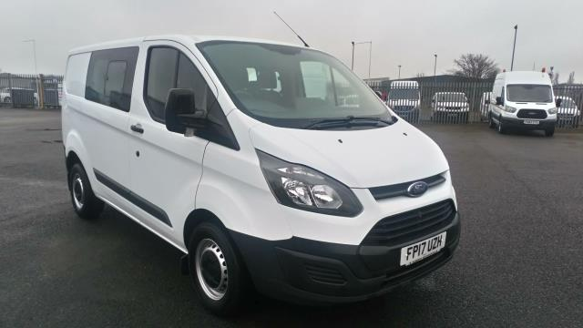 2017 Ford Transit Custom 2.0 Tdci 105Ps Low Roof D/Cab Van (FP17UZH)
