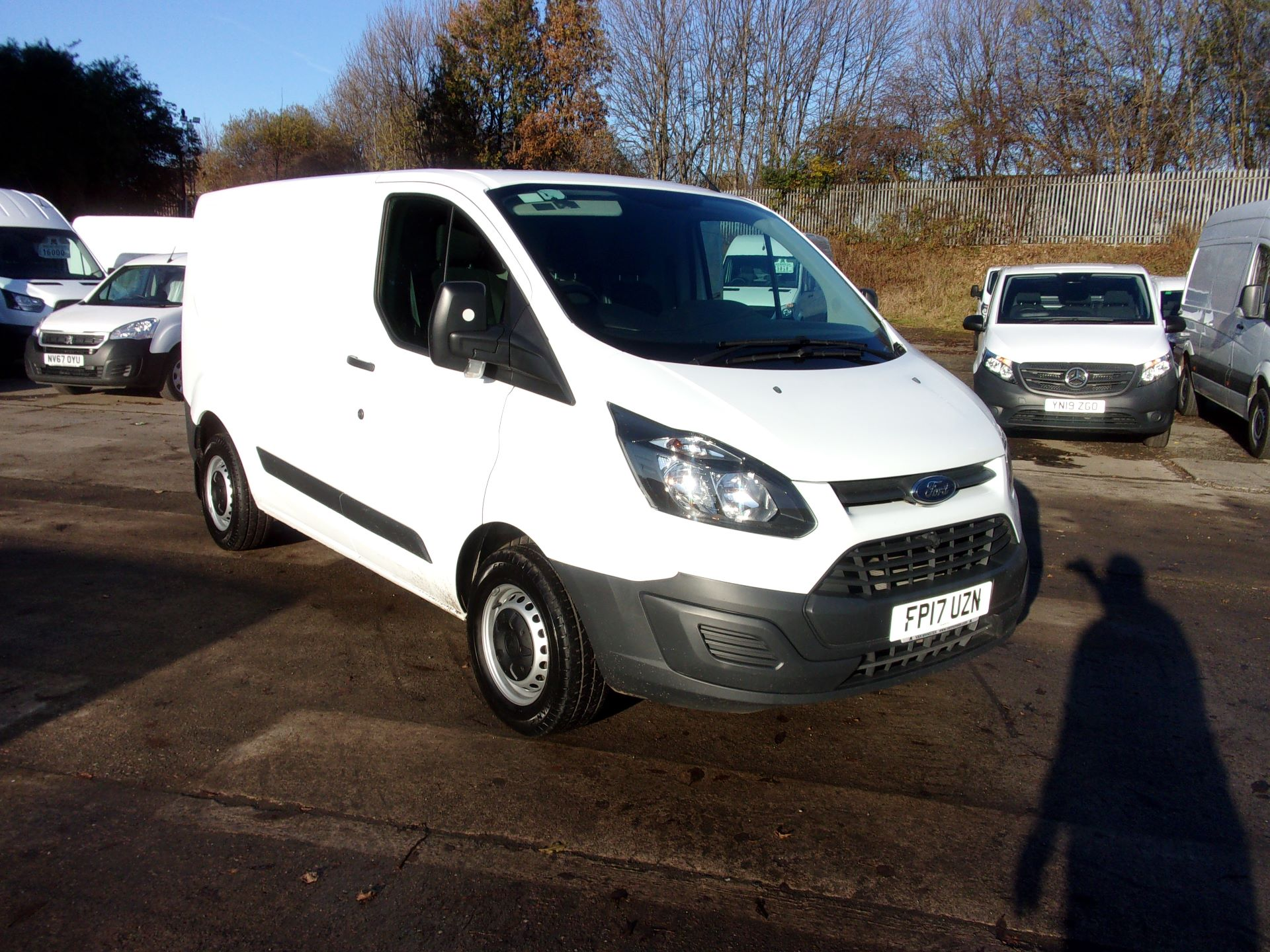 2017 Ford Transit Custom 290 L1 DIESEL FWD 2.0 TDCI 105PS LOW ROOF VAN EURO 6 (FP17UZN)