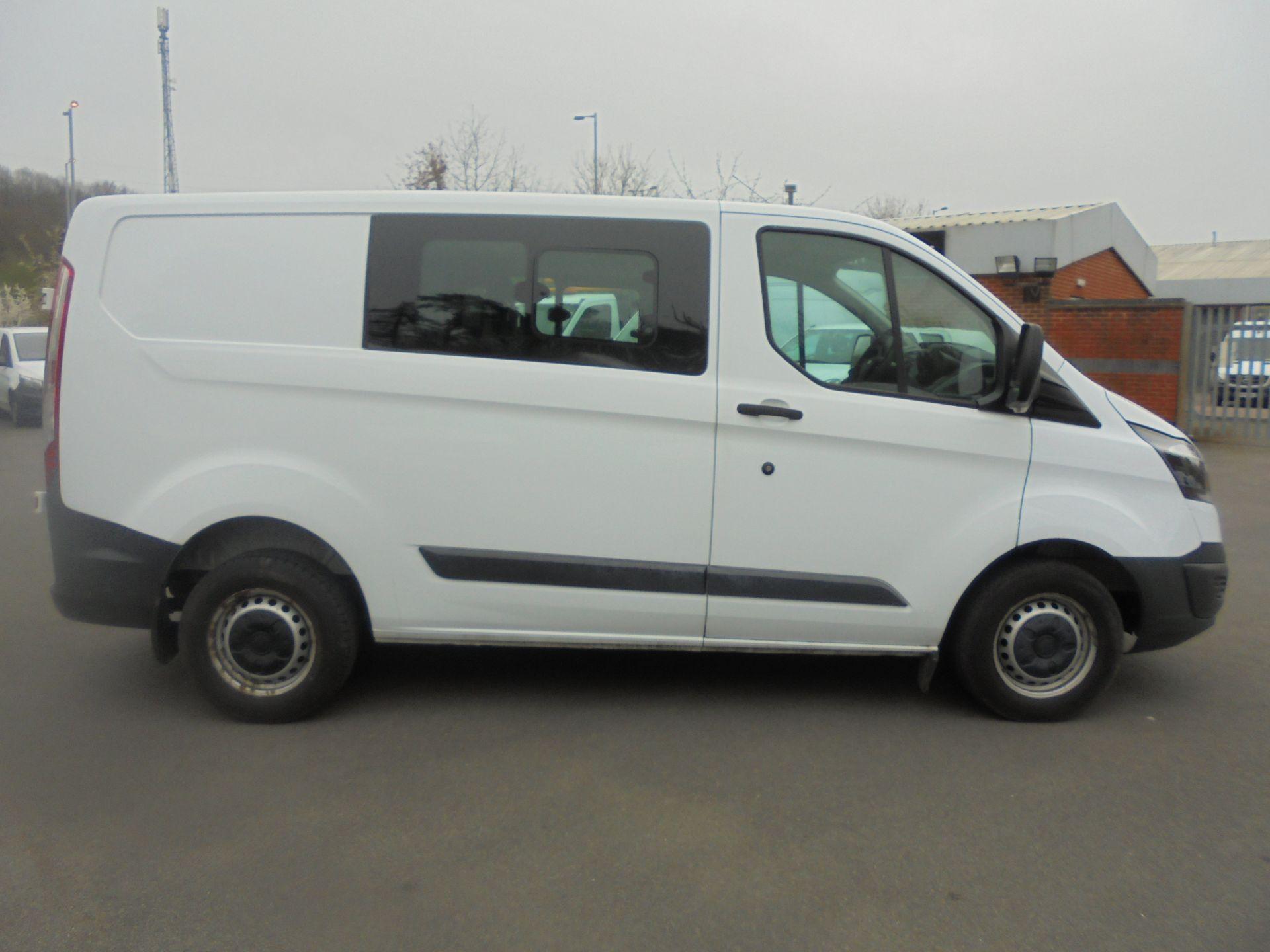 2017 Ford Transit Custom 2.0 Tdci 105Ps Low Roof D/Cab Van (FP17VCK) Image 11
