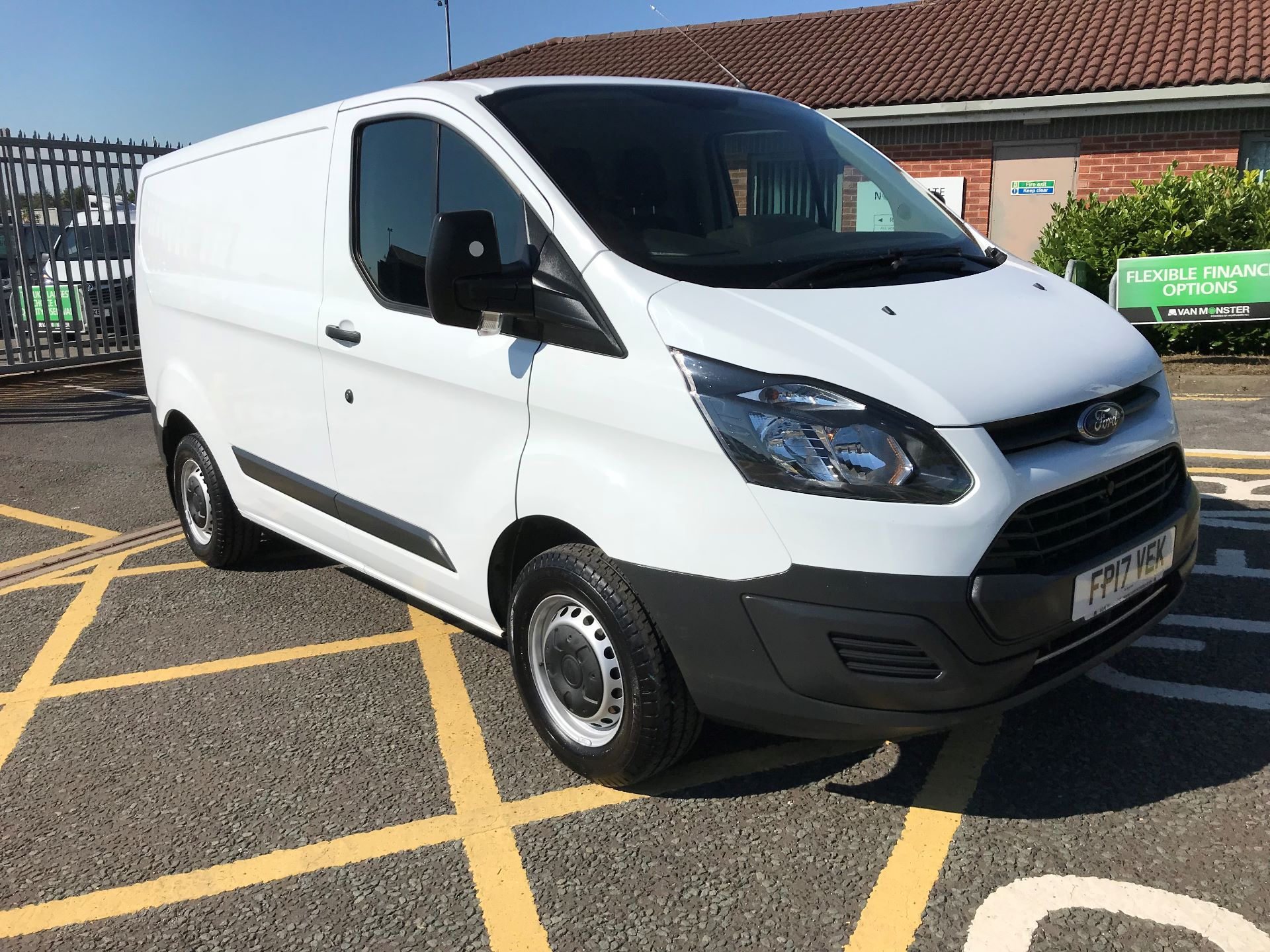 2017 Ford Transit Custom 2.0 Tdci 105Ps Low Roof Van (FP17VEK)