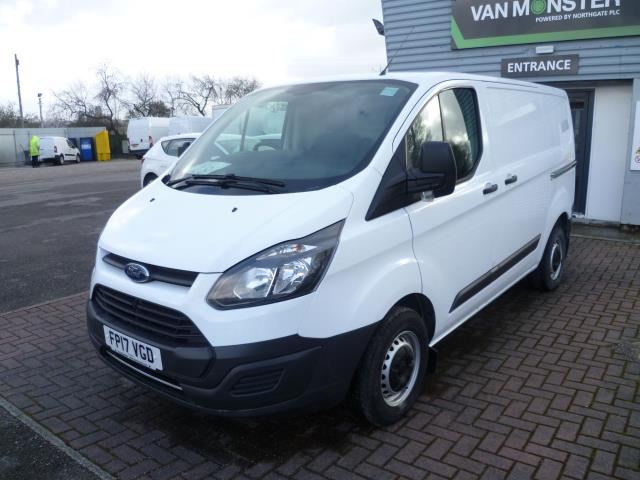 2017 Ford Transit Custom 290 L1 DIESEL FWD 2.2  TDCI 100PS LOW ROOF VAN EURO 6 (FP17VGD) Thumbnail 2