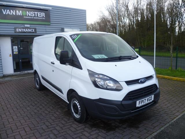 2017 Ford Transit Custom 290 L1 DIESEL FWD 2.2  TDCI 100PS LOW ROOF VAN EURO 6 (FP17VGD) Thumbnail 1