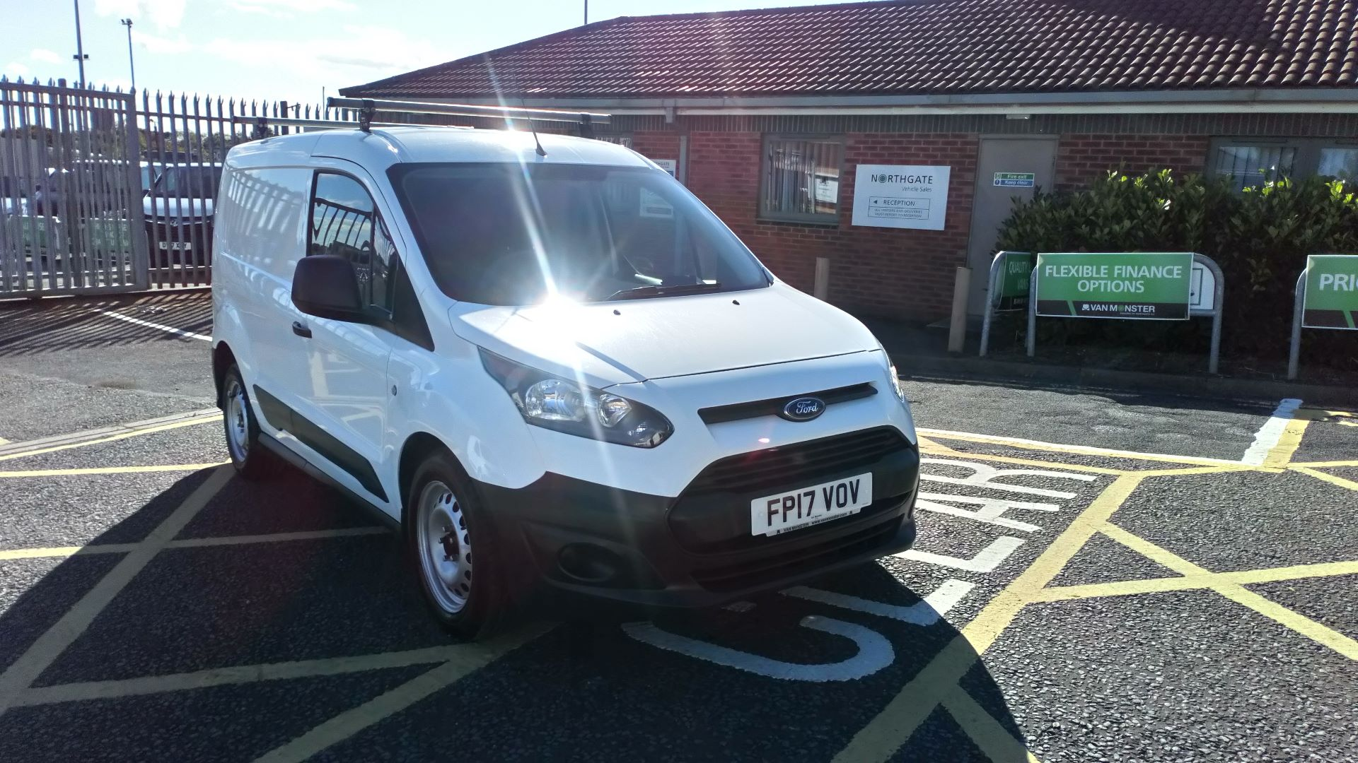 2017 Ford Transit Connect 1.5 Tdci 75Ps Van (FP17VOV) Image 1
