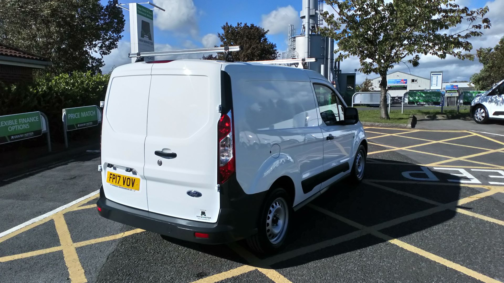 2017 Ford Transit Connect 1.5 Tdci 75Ps Van (FP17VOV) Image 7
