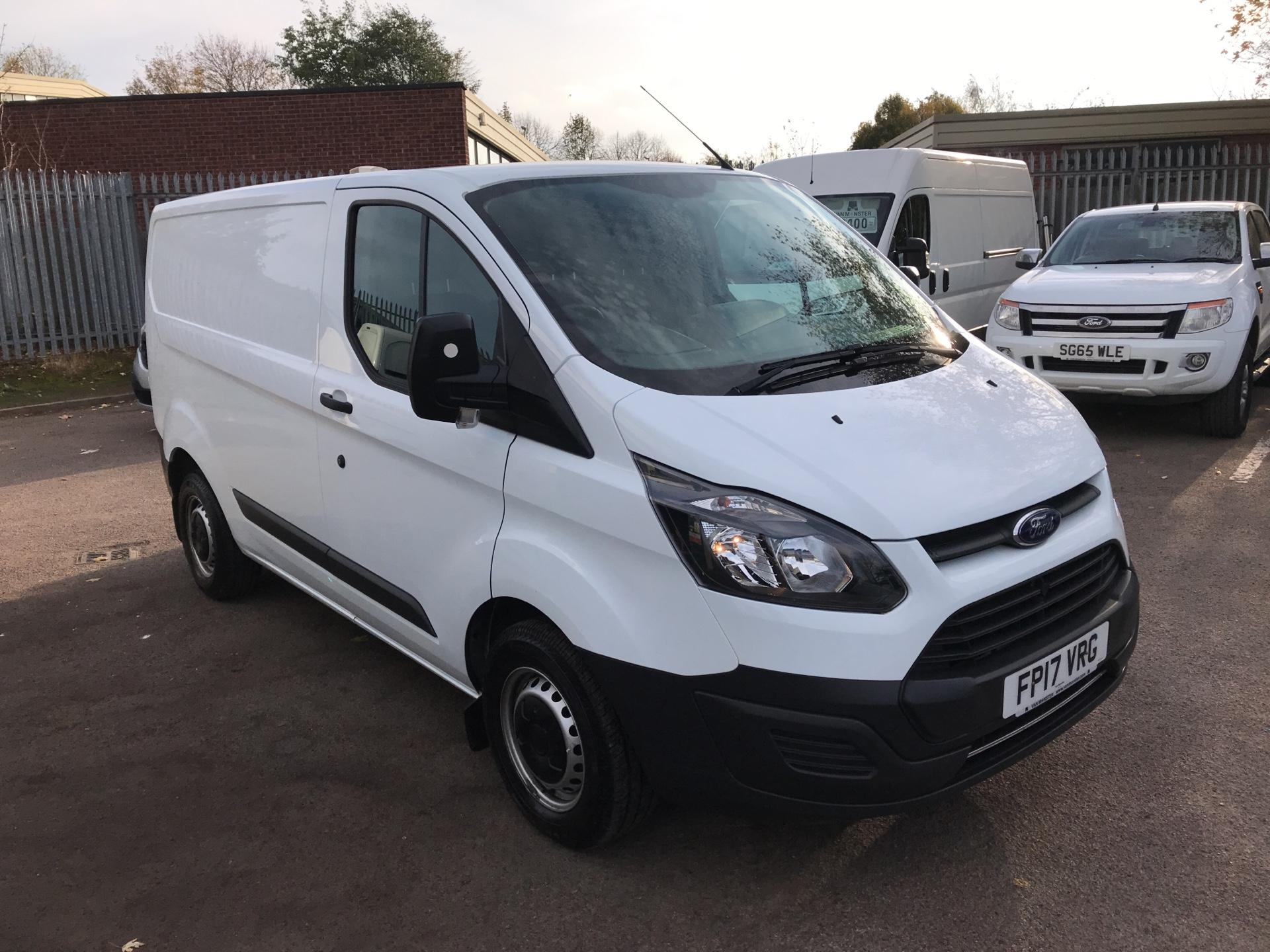 2017 Ford Transit Custom  290 L1 DIESEL FWD 2.0 TDCI 105PS LOW ROOF VAN EURO 6 (Internal Racking) (FP17VRG)
