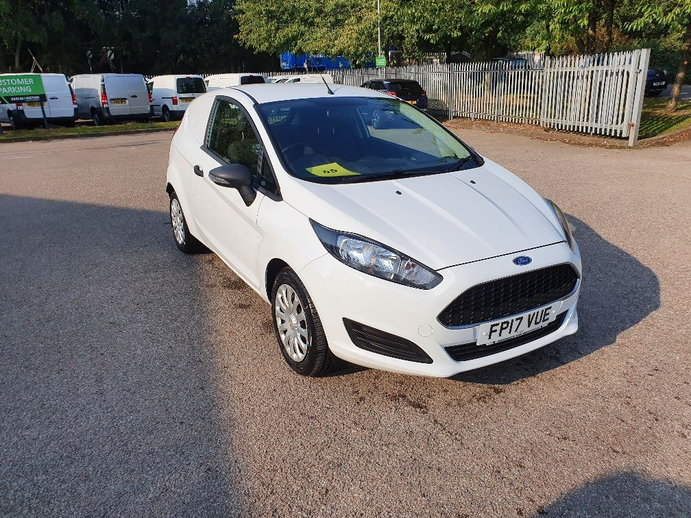 2017 Ford Fiesta BASE 1.5 75PS Tdci Van (FP17VUE) Thumbnail 1