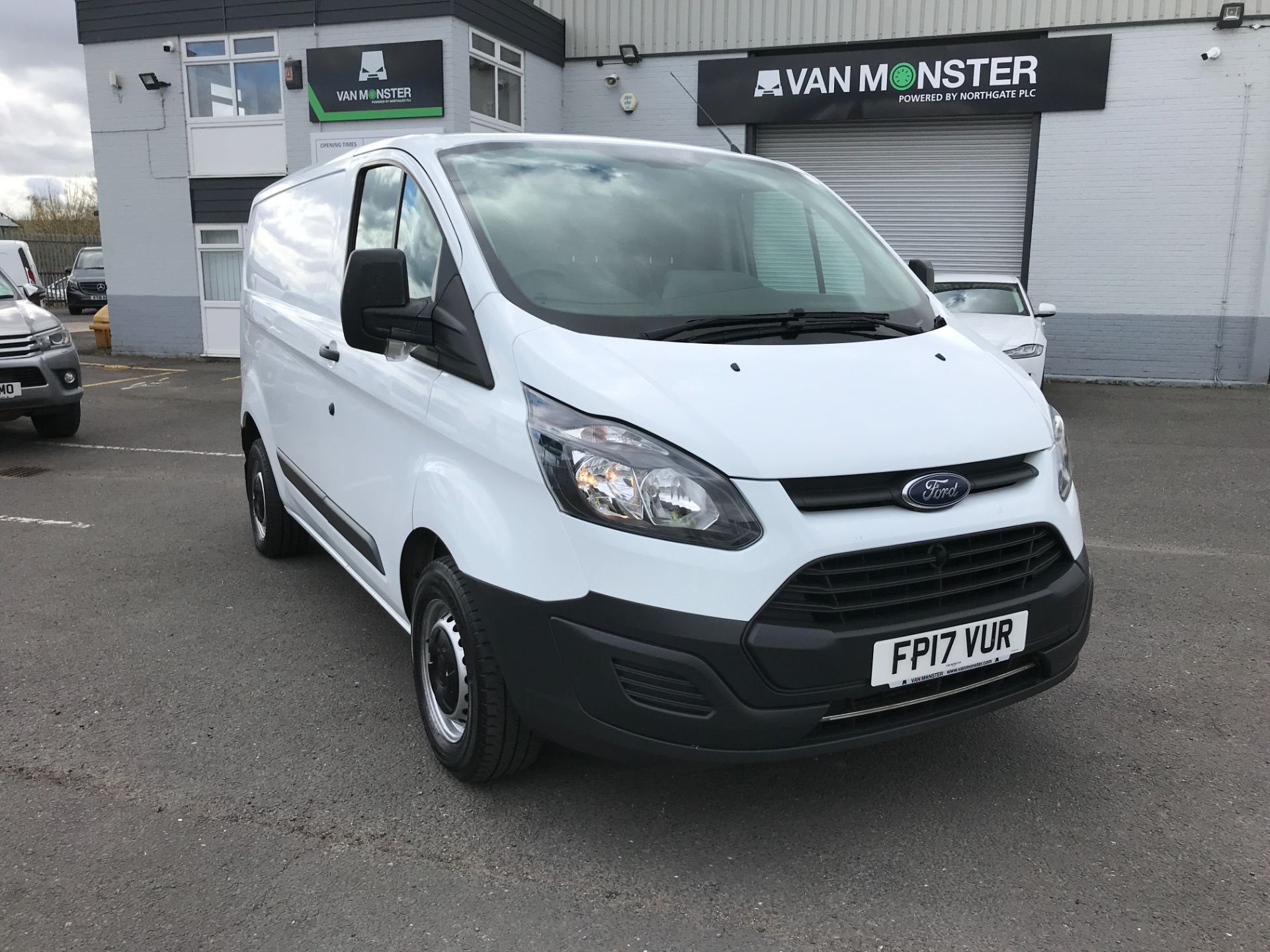 2017 Ford Transit Custom  290 L1 2.0TDCI 105PS LOW ROOF EURO 6 (FP17VUR)