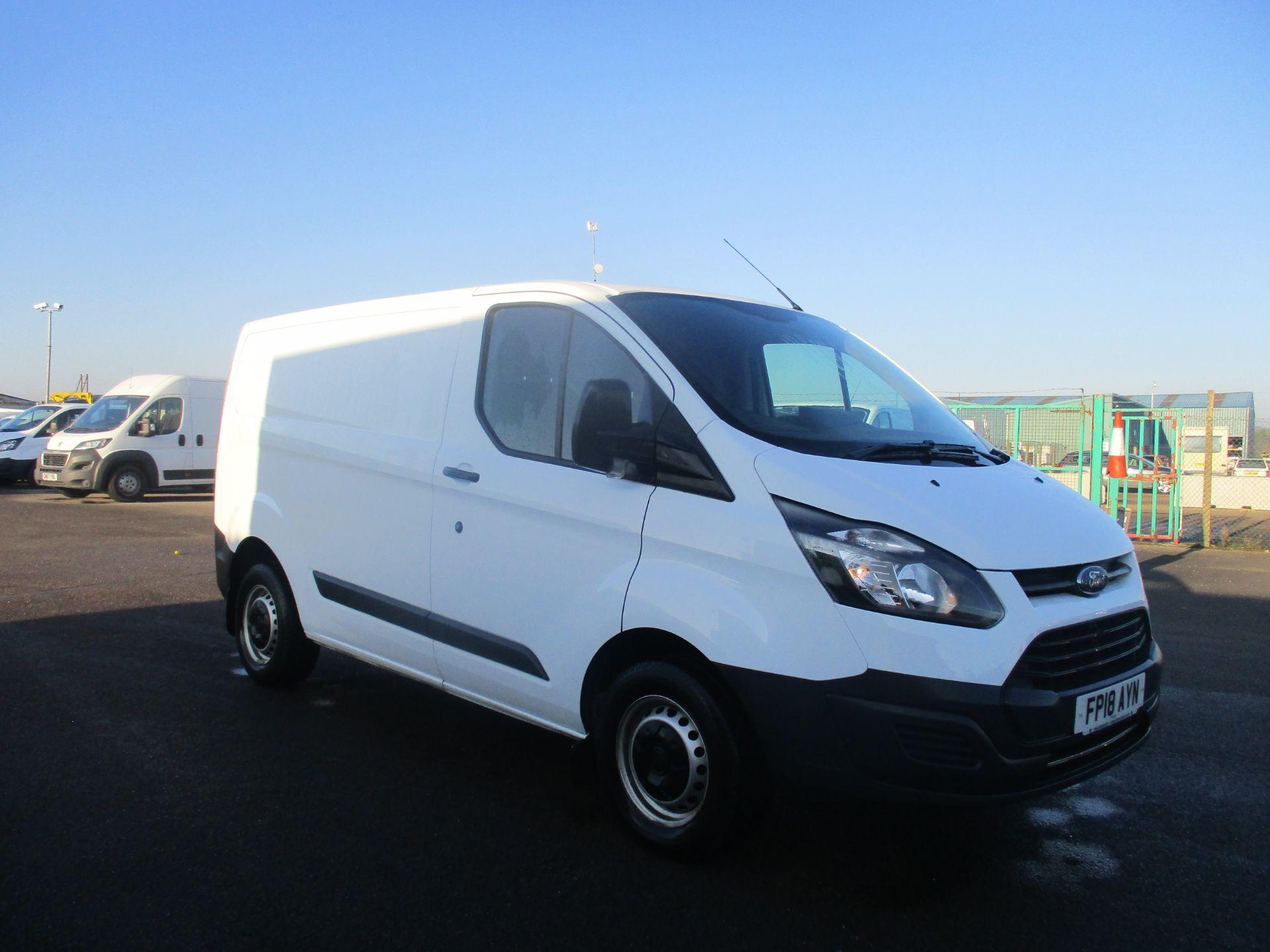 2018 Ford Transit Custom 290 L1 DIESEL FWD 2.0 TDCI 105PS LOW ROOF VAN EURO 6 (FP18AYN)