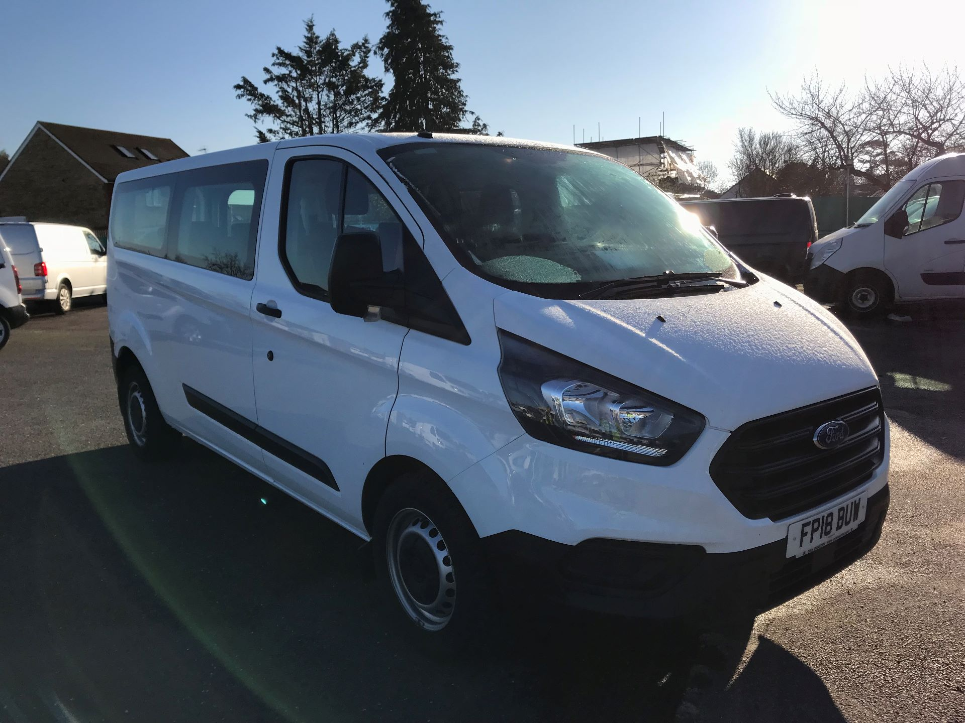 2018 Ford Transit Custom  2.0 TDCI 130PS L/R KOMBI EURO 6 (FP18BUW)