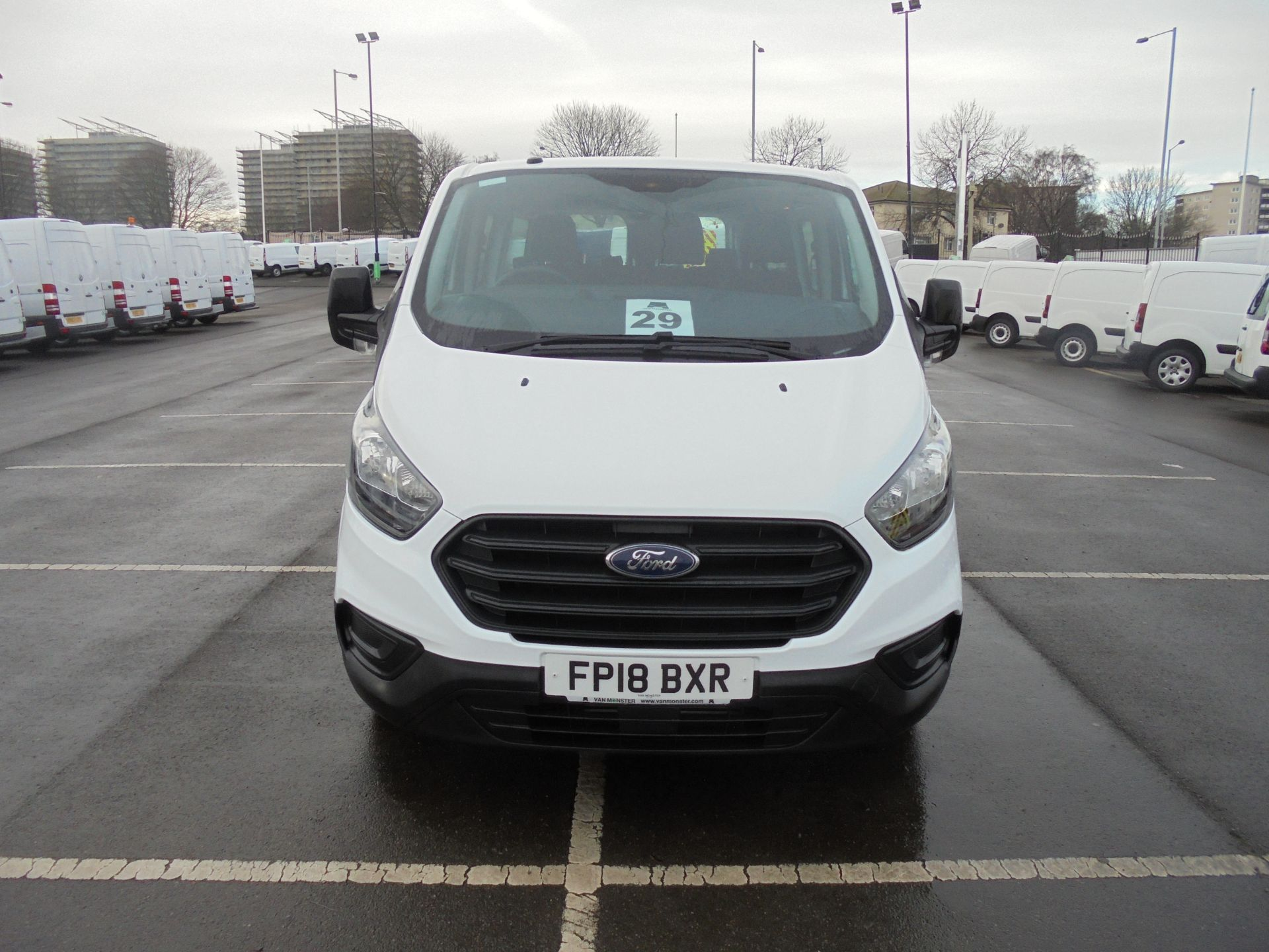 2018 Ford Transit Custom 320 2.0 Tdci 130Ps L2 H1 Low Roof Base 9 Seater Van  (FP18BXR) Image 2