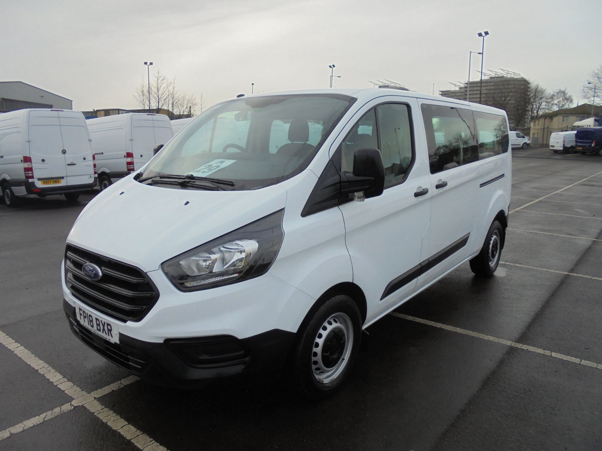2018 Ford Transit Custom 320 2.0 Tdci 130Ps L2 H1 Low Roof Base 9 Seater Van  (FP18BXR) Image 3