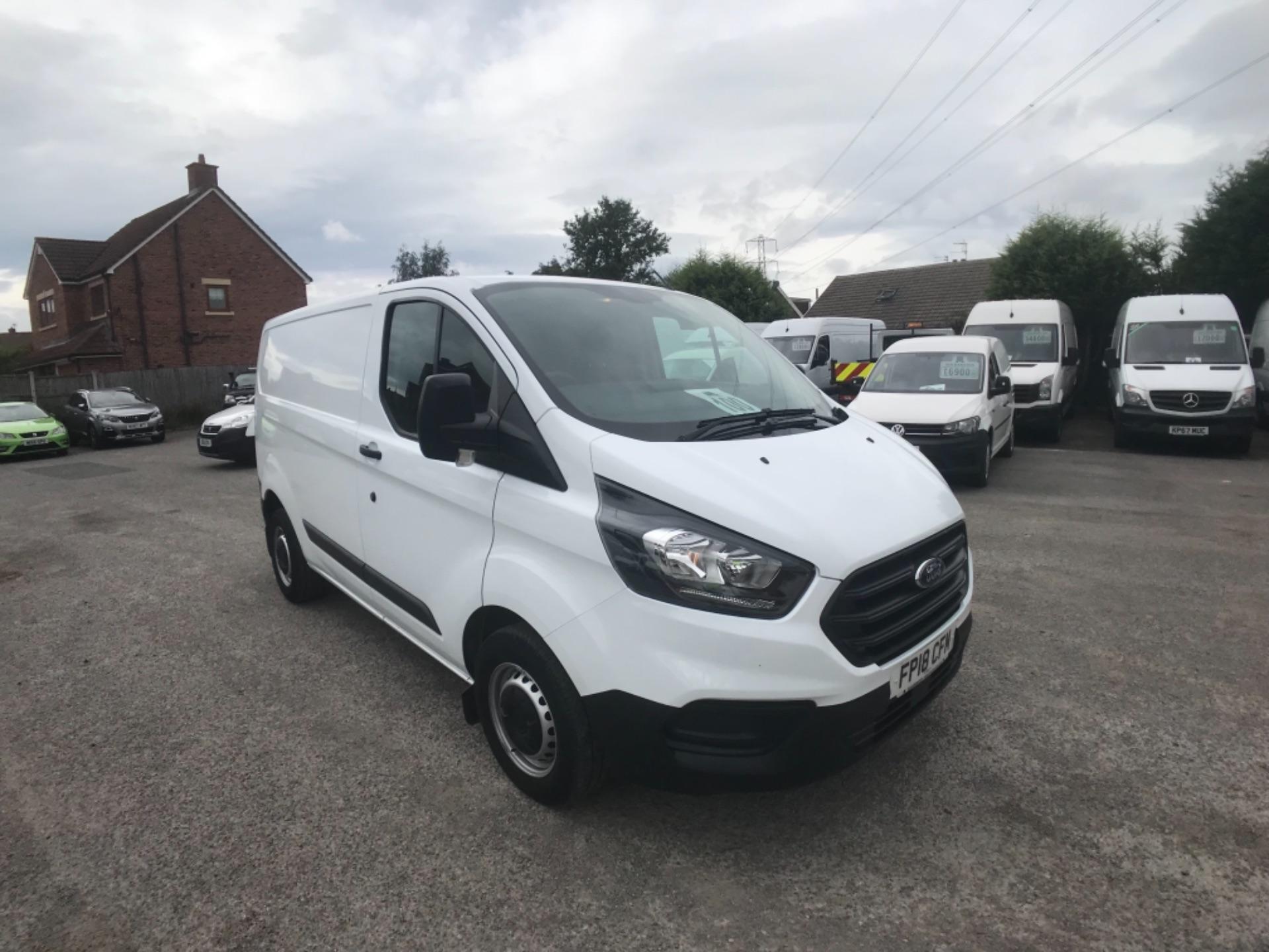 2018 Ford Transit Custom L1 2.0 Tdci 105Ps Low Roof Van EURO 6 (FP18CFM)