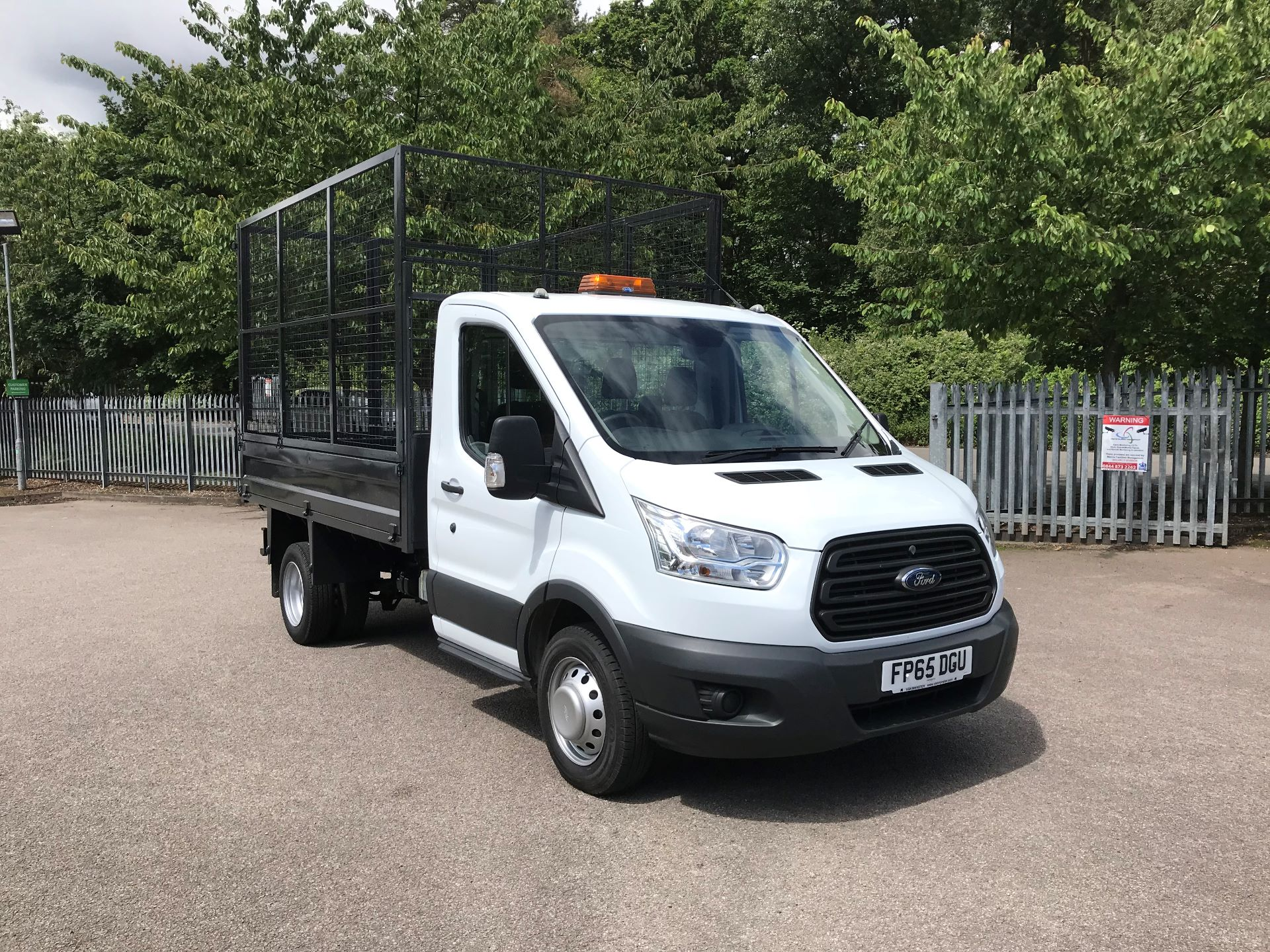 2015 Ford Transit 2.2 Tdci 125Ps Double Cab Chassis (FP65DGY)