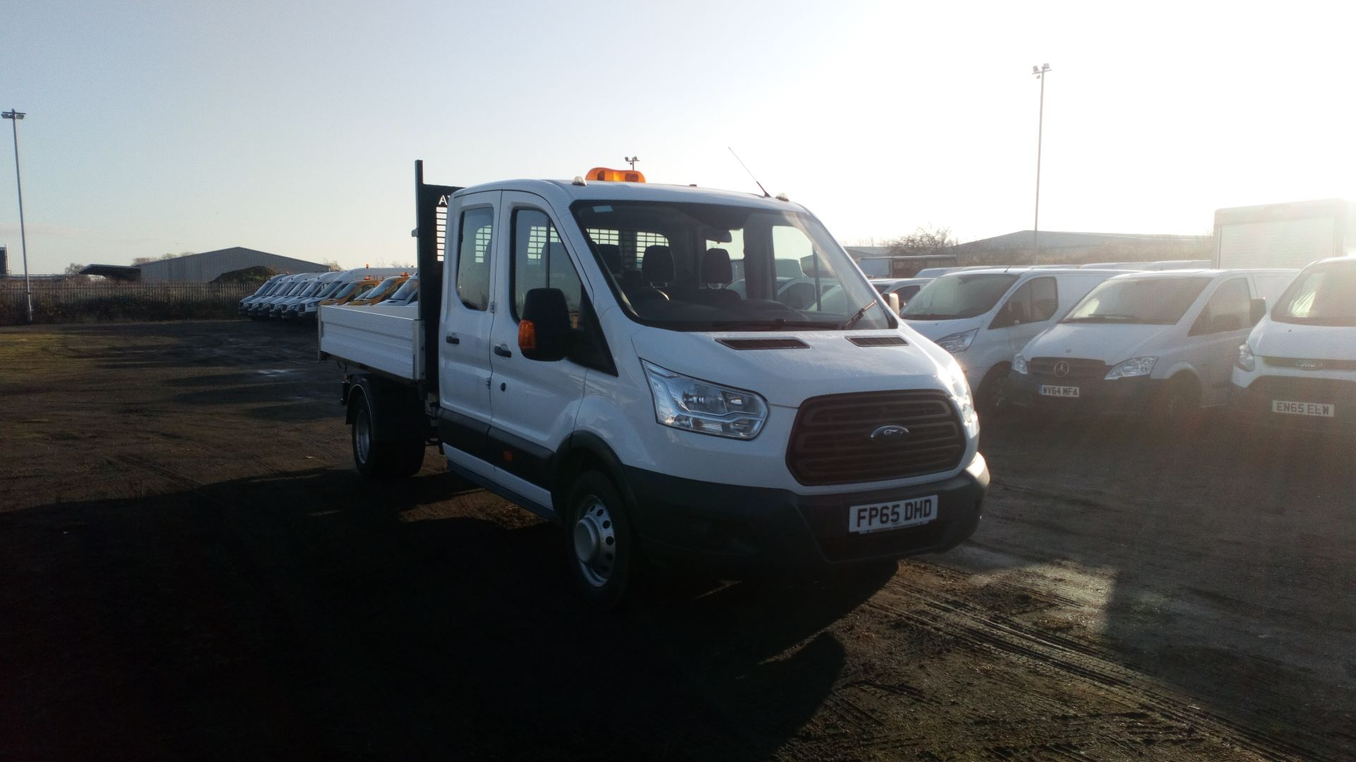 2015 Ford Transit 2.2 Tdci 125Ps Double Cab Chassis (FP65DHD)