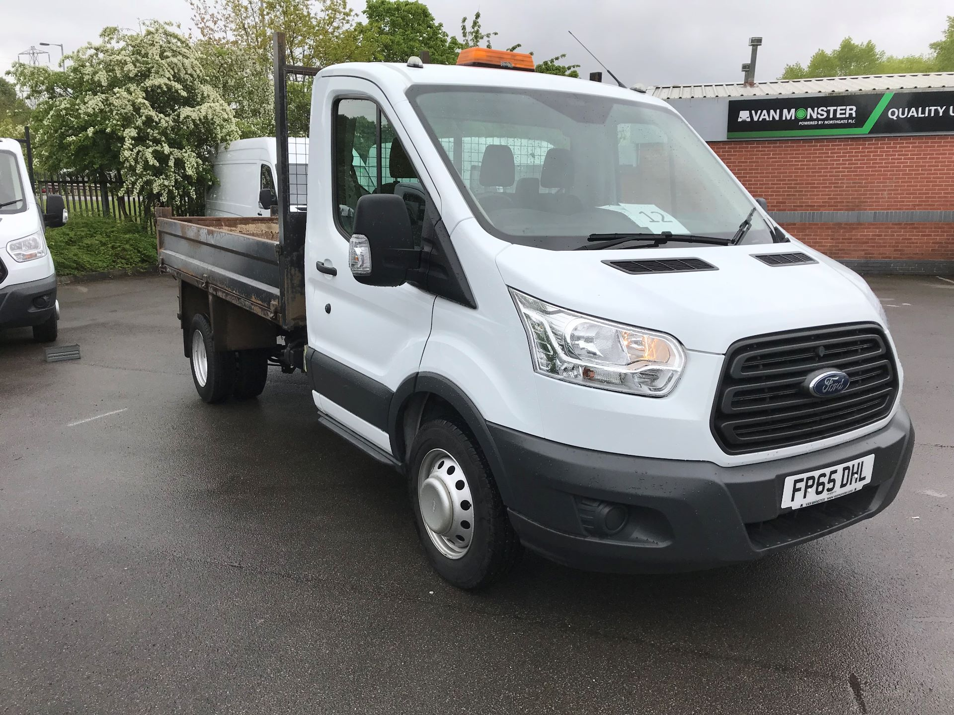 2015 Ford Transit  350 L2 SINGLE CAB TIPPER 100PS EURO 5 (FP65DHL)