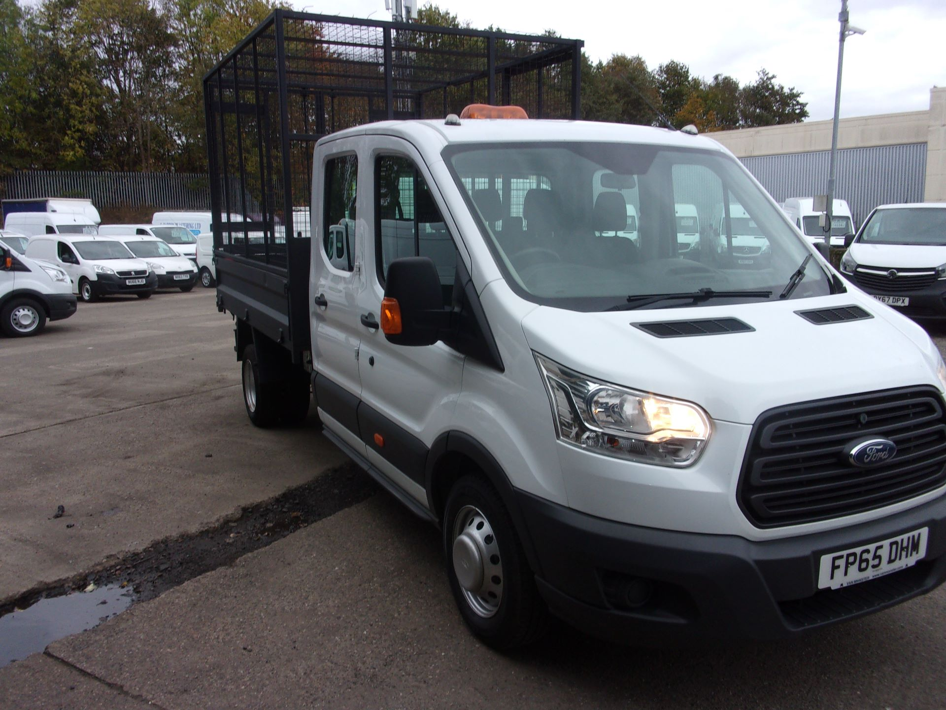 2015 Ford Transit 350 L3 DIESEL RWD 2.2 TDCI 125PS DOUBLE CAB TIPPER (FP65DHM)