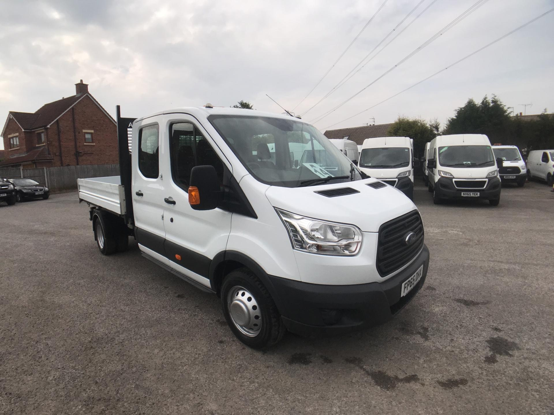 2015 Ford Transit 350 L3 DOUBLE CAB TIPPER 125PS EURO 5 (FP65DHX)