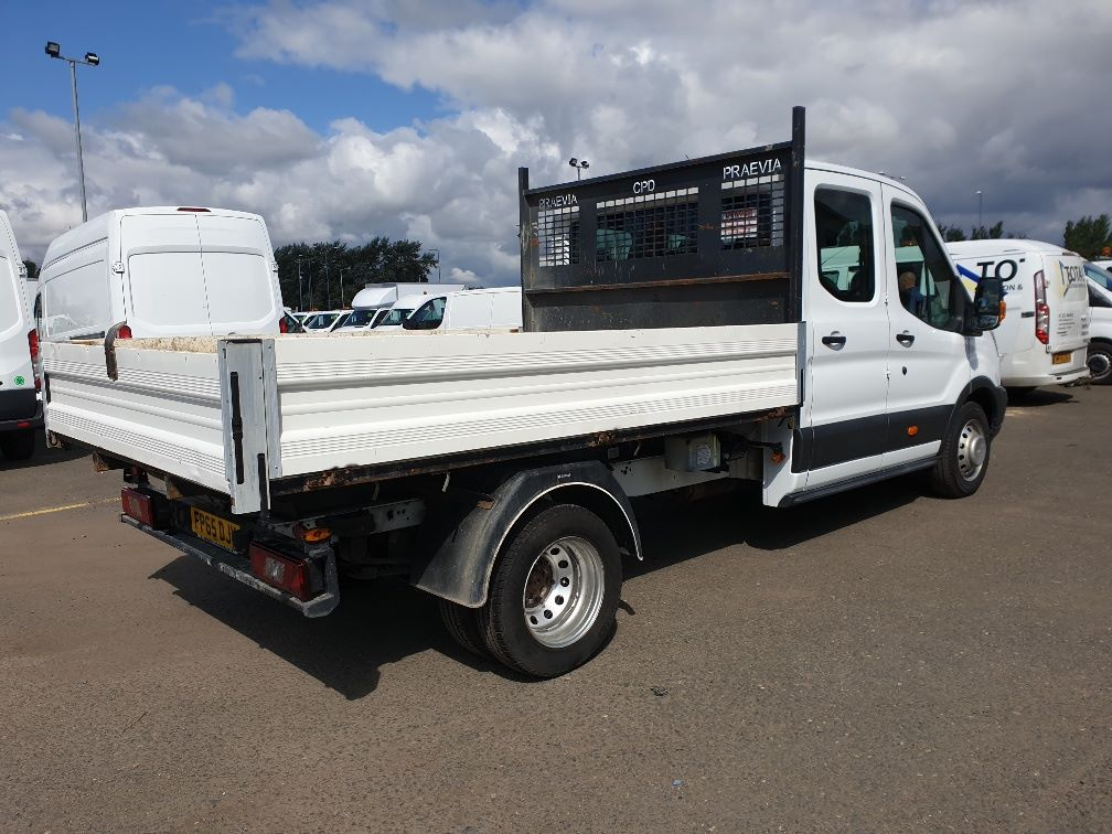 2015 Ford Transit 350 L3 DOUBLE CAB TIPPER 125PS EURO 5 *VALUE RANGE VEHICLE CONDITION REFLECTED IN PRICE*  (FP65DJX) Image 10