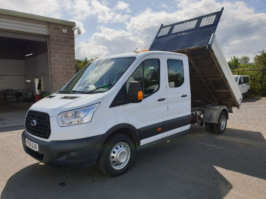 2015 Ford Transit 350 L3 DOUBLE CAB TIPPER 125PS EURO 5 *VALUE RANGE VEHICLE CONDITION REFLECTED IN PRICE*  (FP65DJX) Image 24