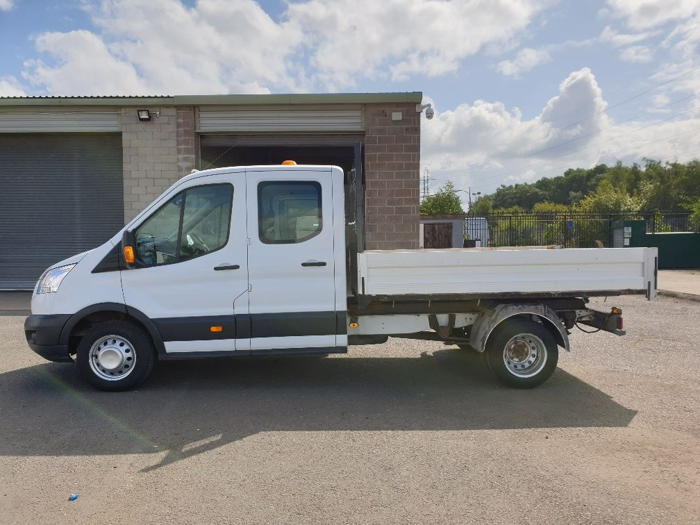 2015 Ford Transit 350 L3 DOUBLE CAB TIPPER 125PS EURO 5 *VALUE RANGE VEHICLE CONDITION REFLECTED IN PRICE*  (FP65DJX) Image 4
