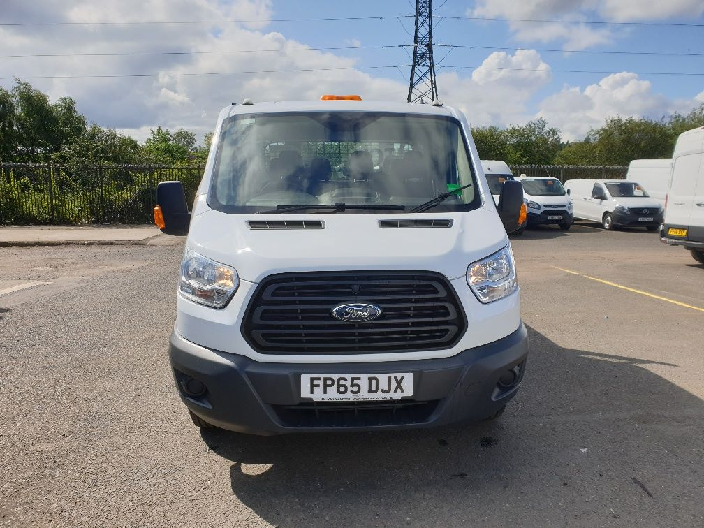 2015 Ford Transit 350 L3 DOUBLE CAB TIPPER 125PS EURO 5 *VALUE RANGE VEHICLE CONDITION REFLECTED IN PRICE*  (FP65DJX) Image 2