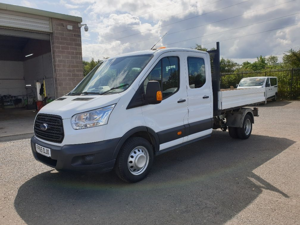 2015 Ford Transit 350 L3 DOUBLE CAB TIPPER 125PS EURO 5 *VALUE RANGE VEHICLE CONDITION REFLECTED IN PRICE*  (FP65DJX) Image 3