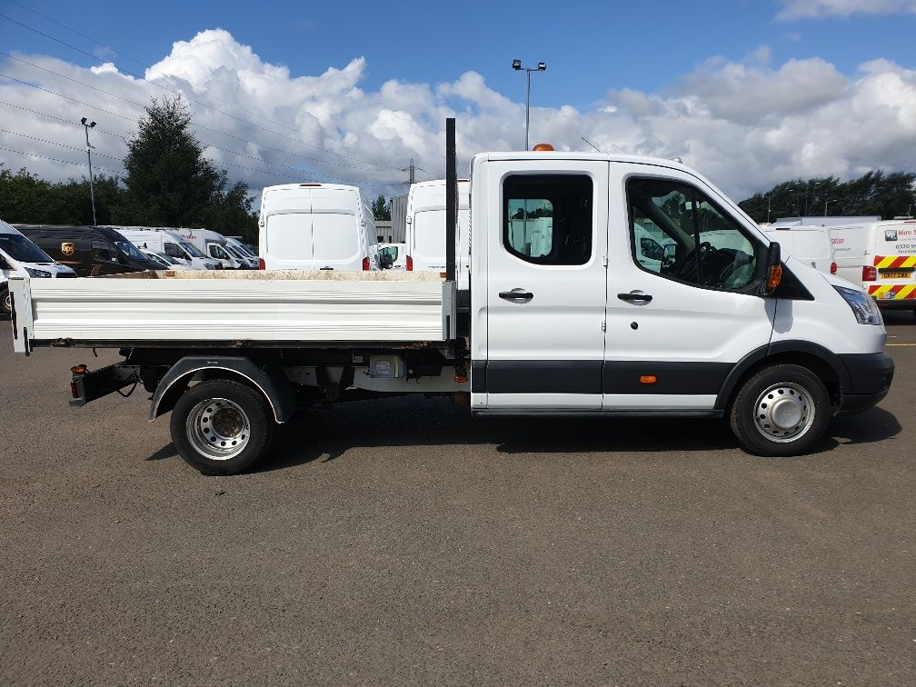 2015 Ford Transit 350 L3 DOUBLE CAB TIPPER 125PS EURO 5 *VALUE RANGE VEHICLE CONDITION REFLECTED IN PRICE*  (FP65DJX) Image 11
