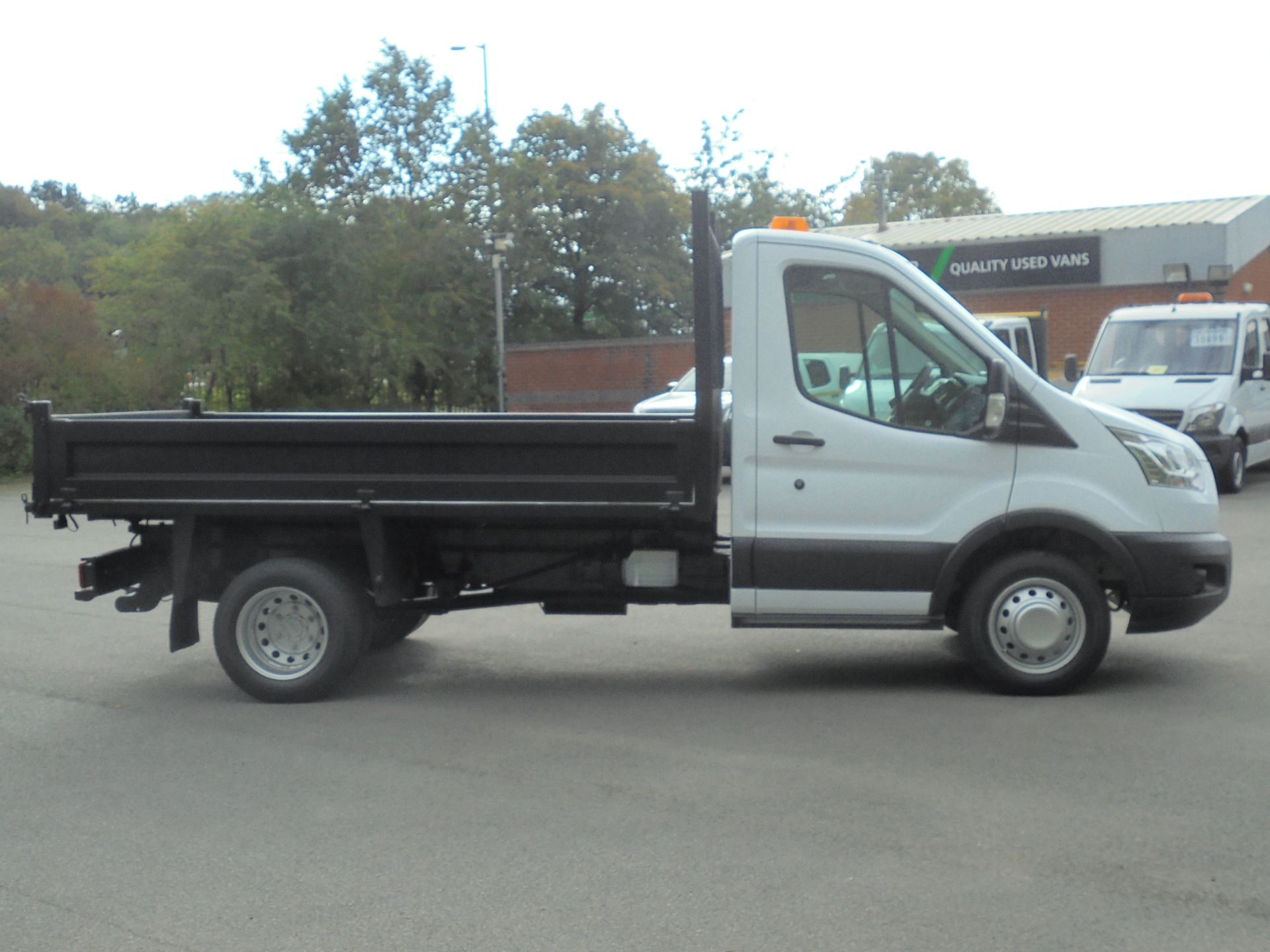 2015 Ford Transit 2.2 Tdci 125Ps Chassis Cab Tipper (FP65DJZ) Image 9