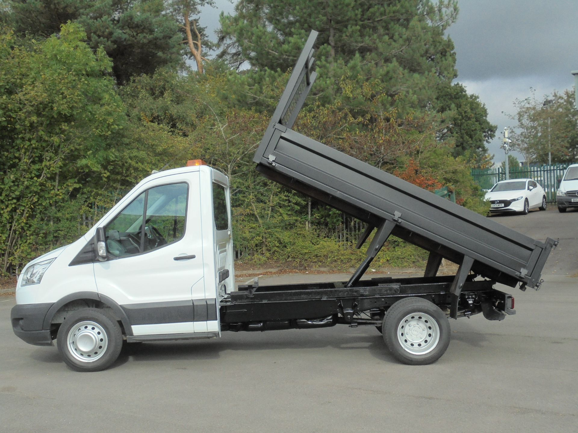 2015 Ford Transit 2.2 Tdci 125Ps Chassis Cab Tipper (FP65DJZ) Image 14