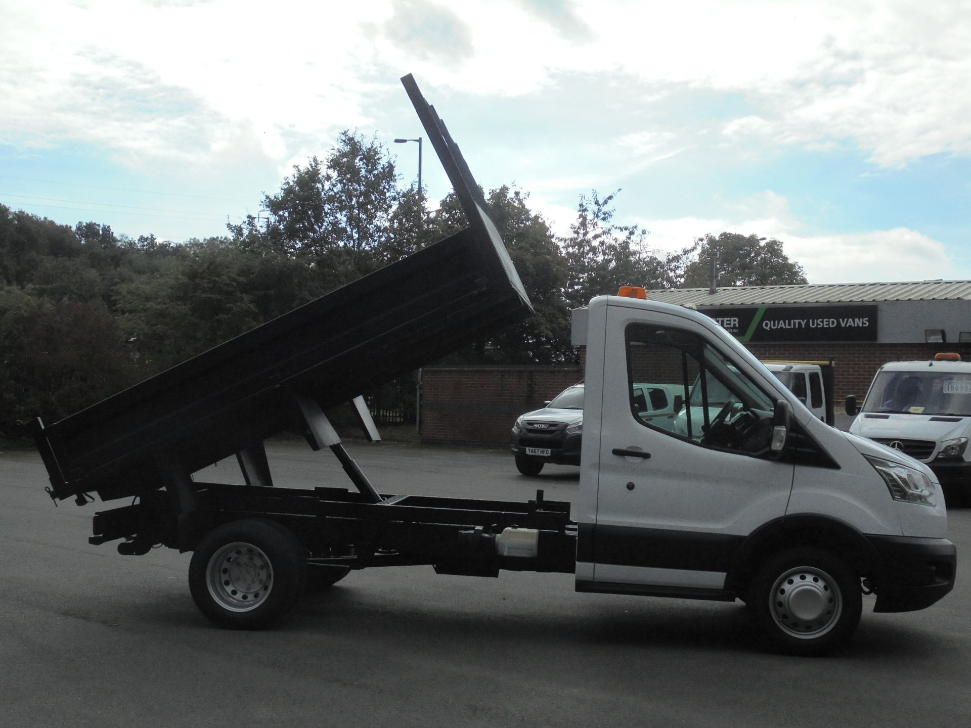 2015 Ford Transit 2.2 Tdci 125Ps Chassis Cab Tipper (FP65DJZ) Image 16