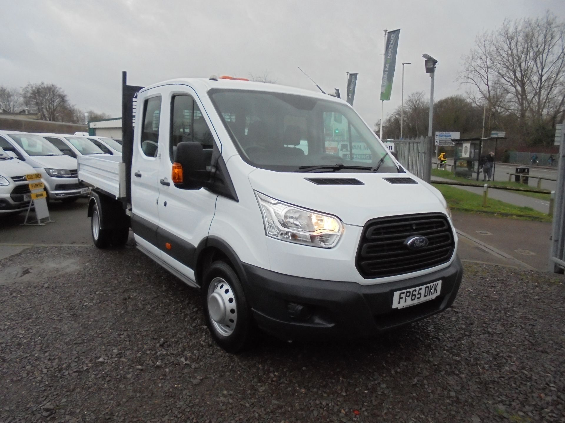 2016 Ford Transit 350 L3 DOUBLE CAB TIPPER 125PS EURO 5 (FP65DKK)