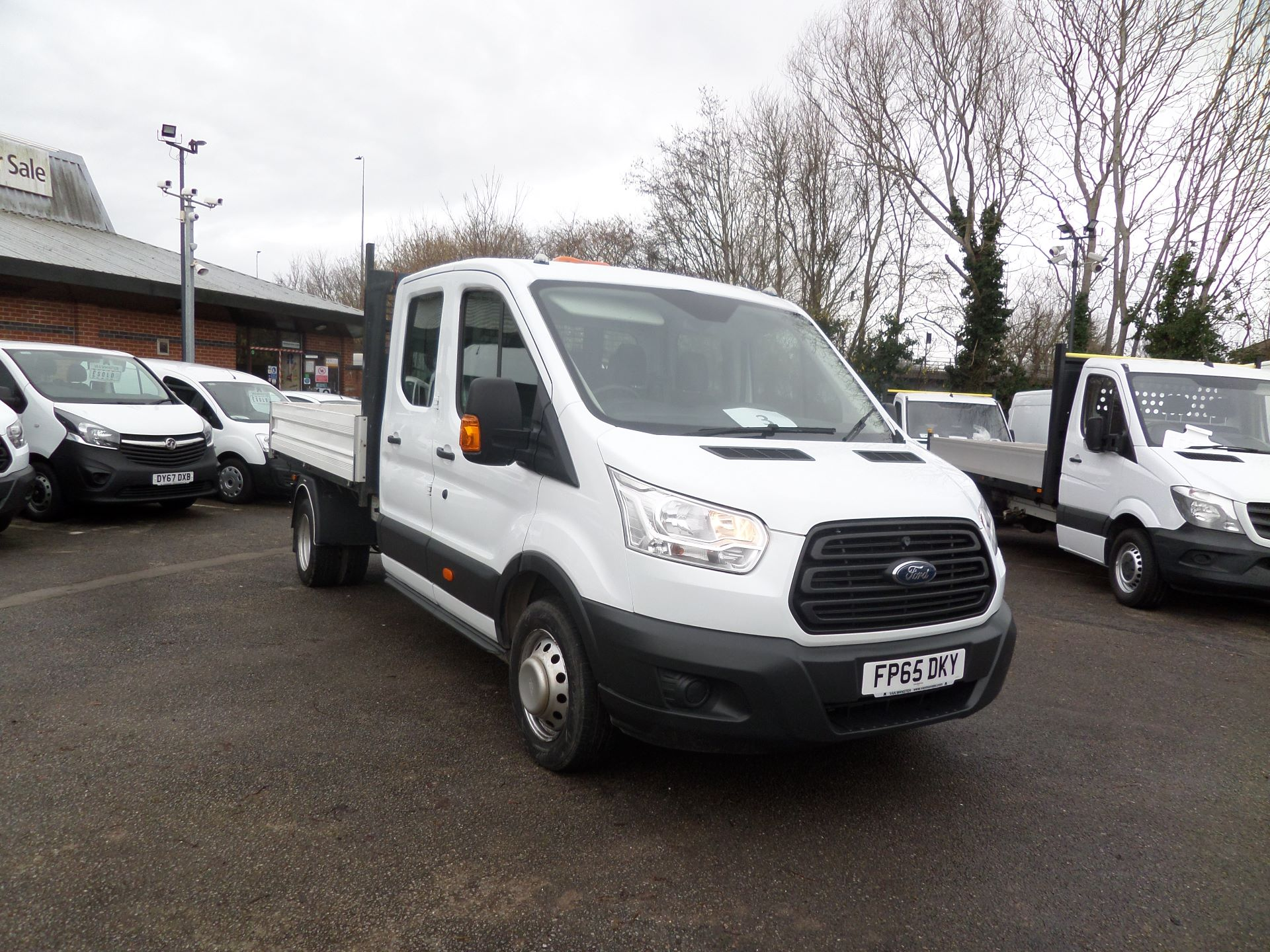 2015 Ford Transit 2.2 Tdci 125Ps Double Cab Tipper Euro 5 (FP65DKY)