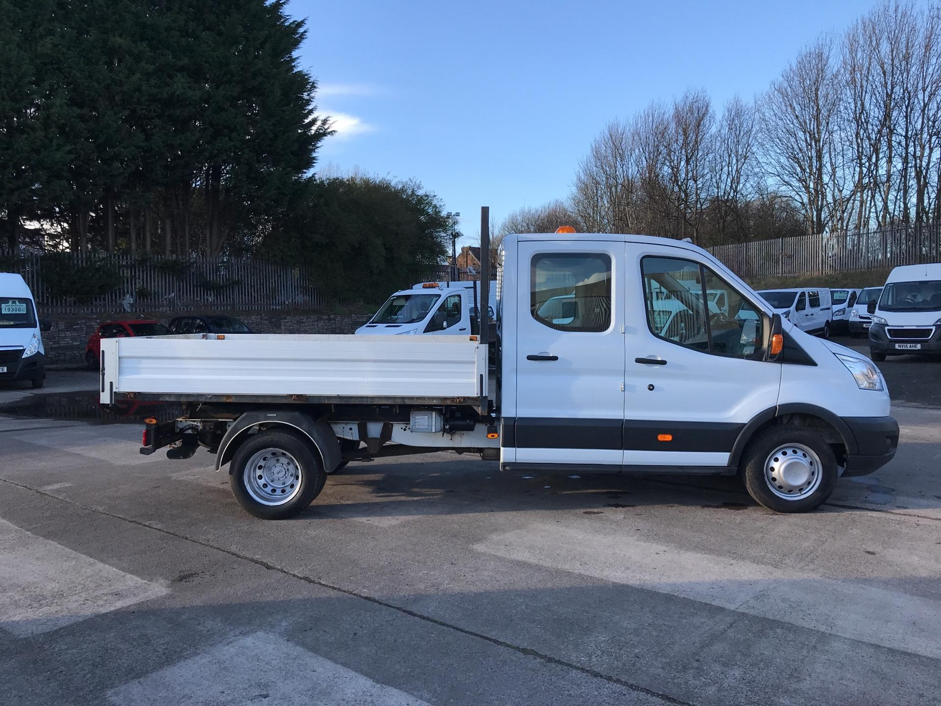 2016 Ford Transit 350 L3 DOUBLE CAB TIPPER 125PS EURO 5 (FP65DLK) Image 2