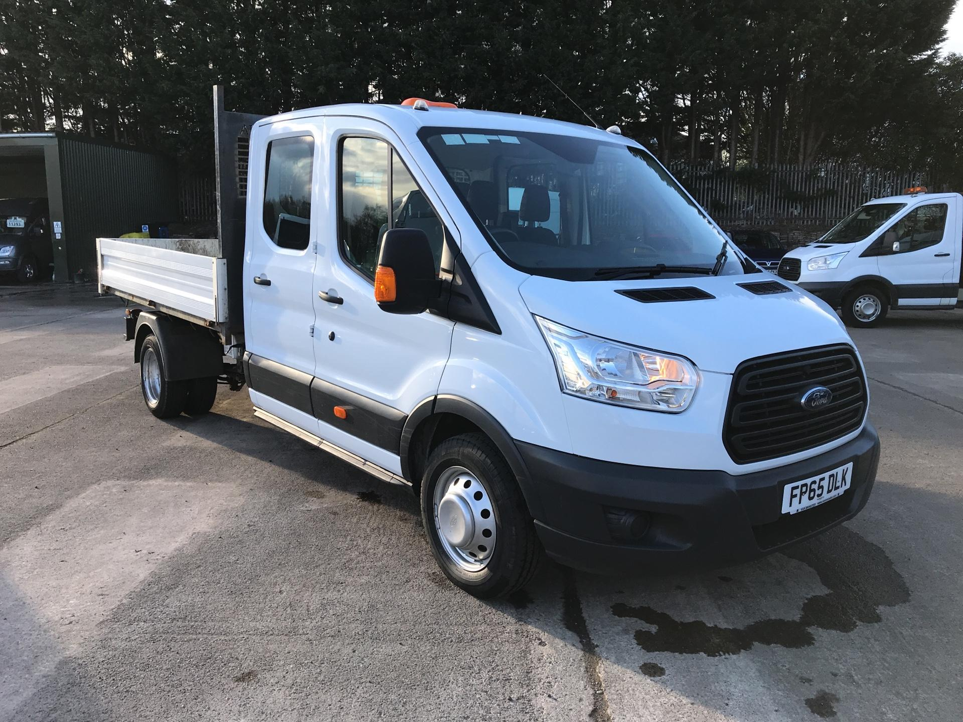 5c712b9a46 2016 Ford Transit 350 L3 DOUBLE CAB TIPPER 125PS EURO 5 (FP65DLK)