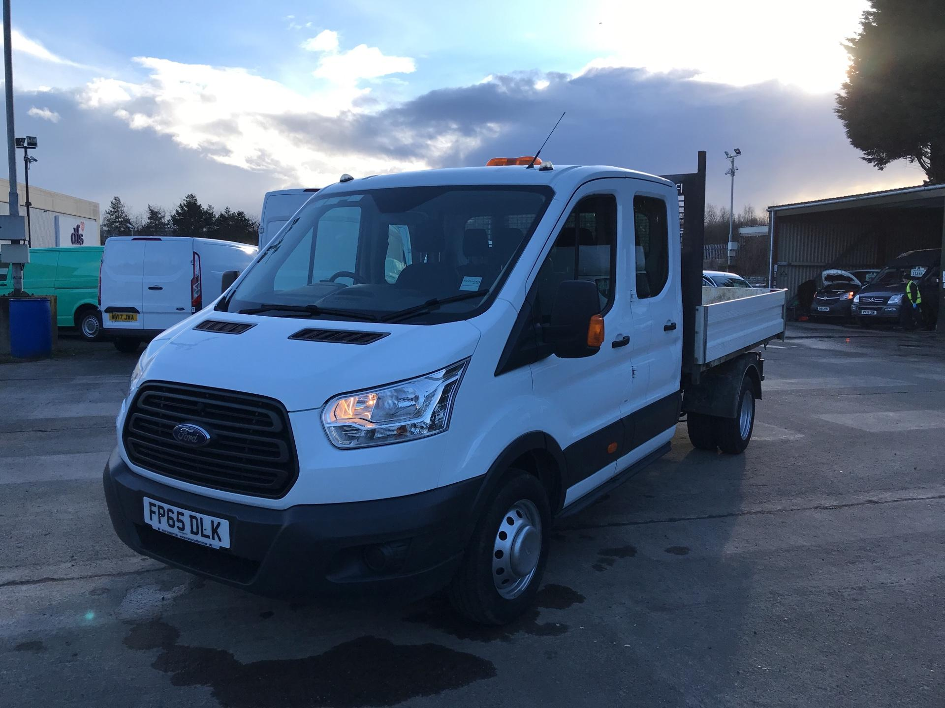 2016 Ford Transit 350 L3 DOUBLE CAB TIPPER 125PS EURO 5 (FP65DLK) Image 7