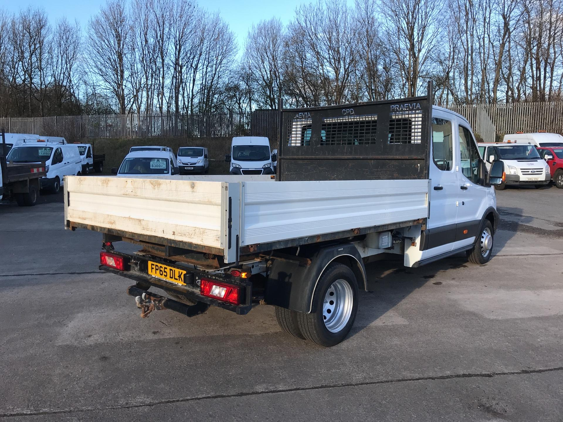 2016 Ford Transit 350 L3 DOUBLE CAB TIPPER 125PS EURO 5 (FP65DLK) Image 3