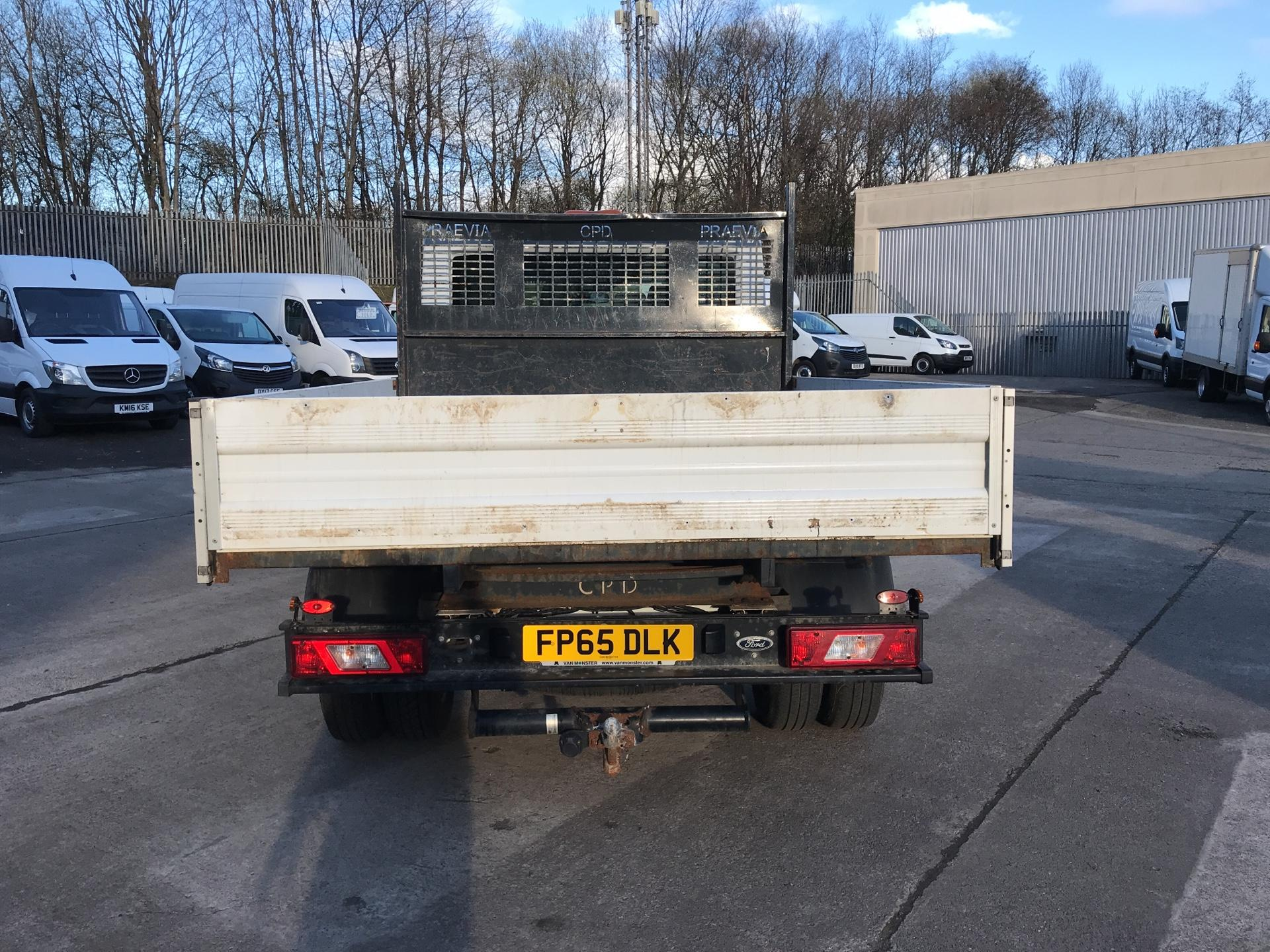2016 Ford Transit 350 L3 DOUBLE CAB TIPPER 125PS EURO 5 (FP65DLK) Image 4